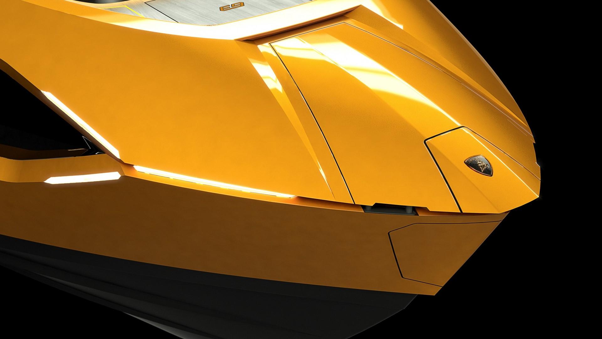 Automobili Lamborghini and The Italian Sea Group unveil the motor yacht 'Tecnomar for Lamborghini 63' - Image 1