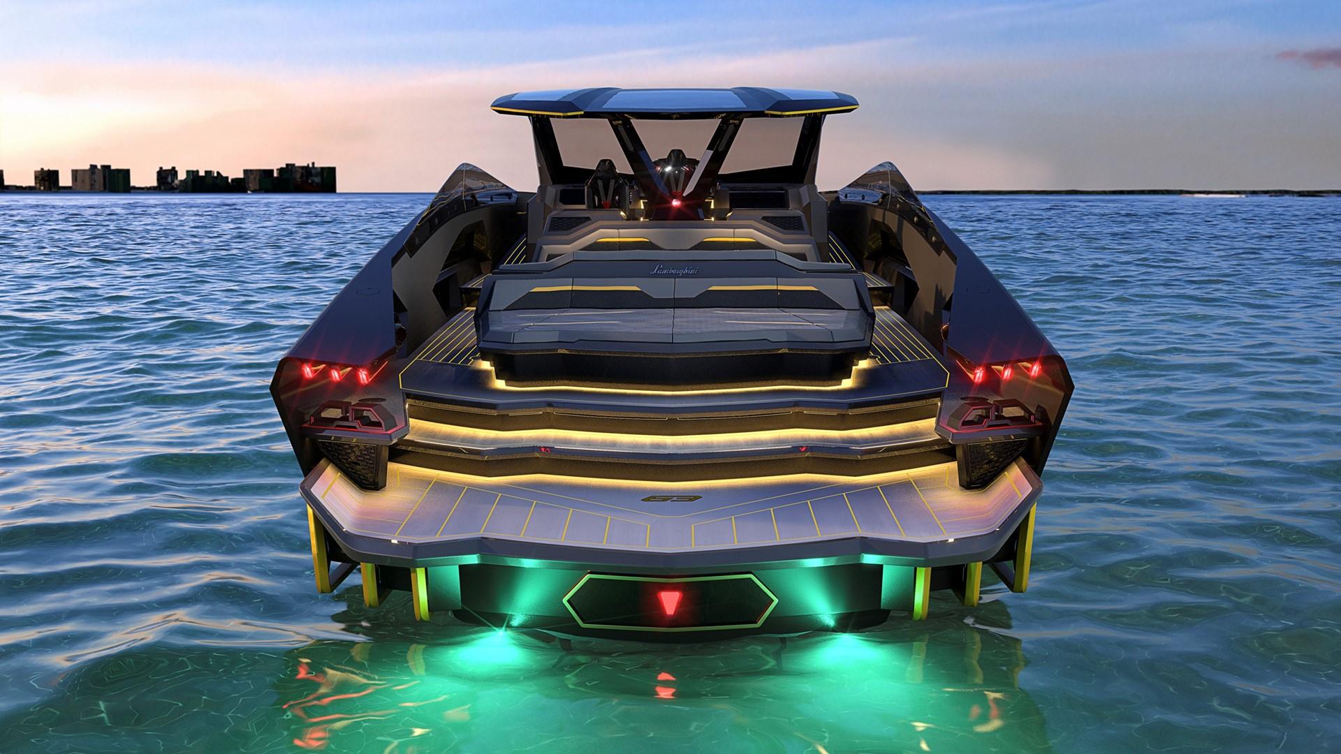 Automobili Lamborghini and The Italian Sea Group unveil the motor yacht 'Tecnomar for Lamborghini 63' - Image 5
