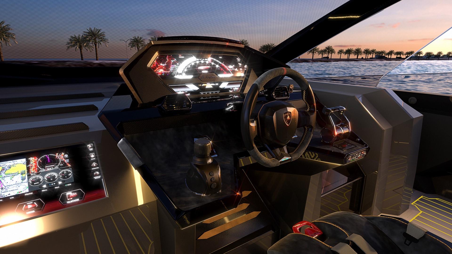 Automobili Lamborghini and The Italian Sea Group unveil the motor yacht 'Tecnomar for Lamborghini 63' - Image 6
