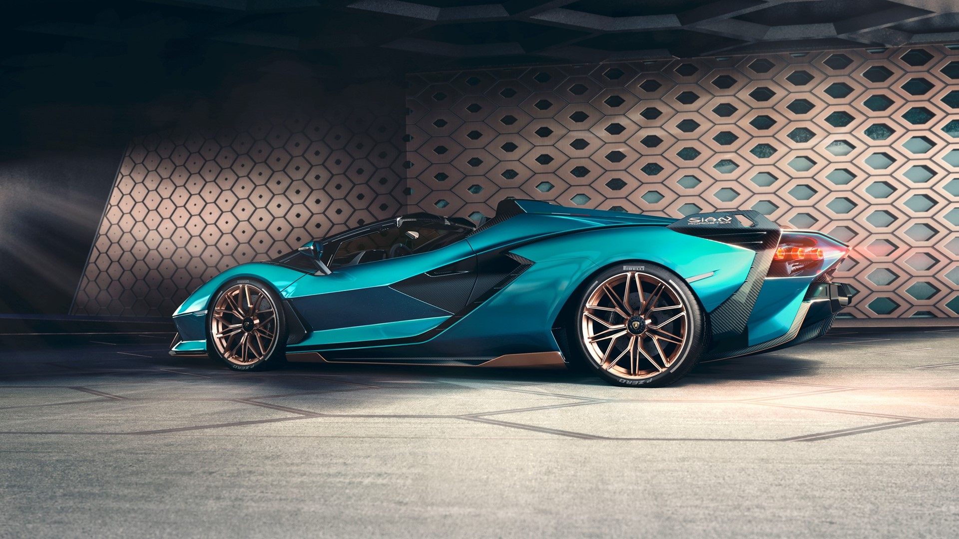 The Lamborghini Sián Roadster: Experience future technology under open skies - Image 3