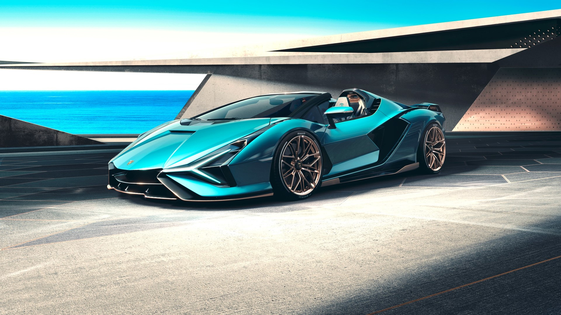 The Lamborghini Sián Roadster: Experience future technology under open skies - Image 8