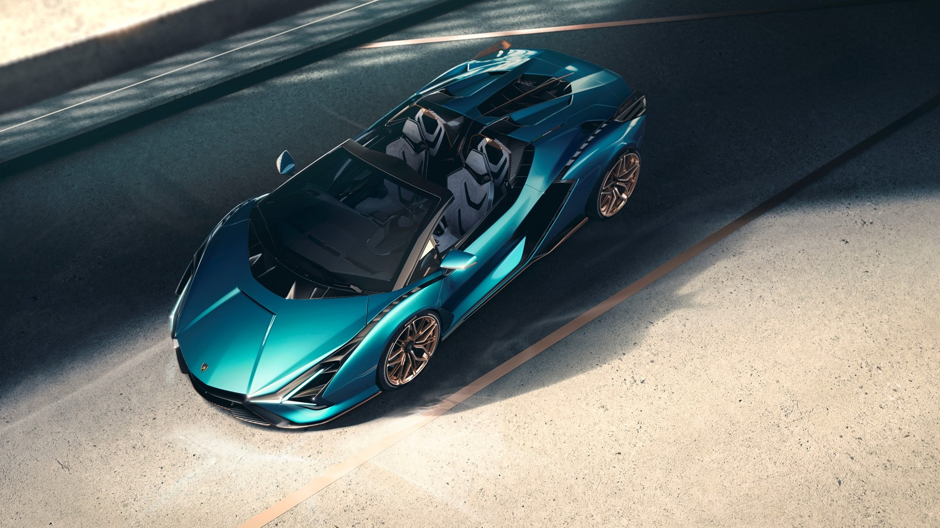 The Lamborghini Sián Roadster: Experience future technology under open skies - Image 2