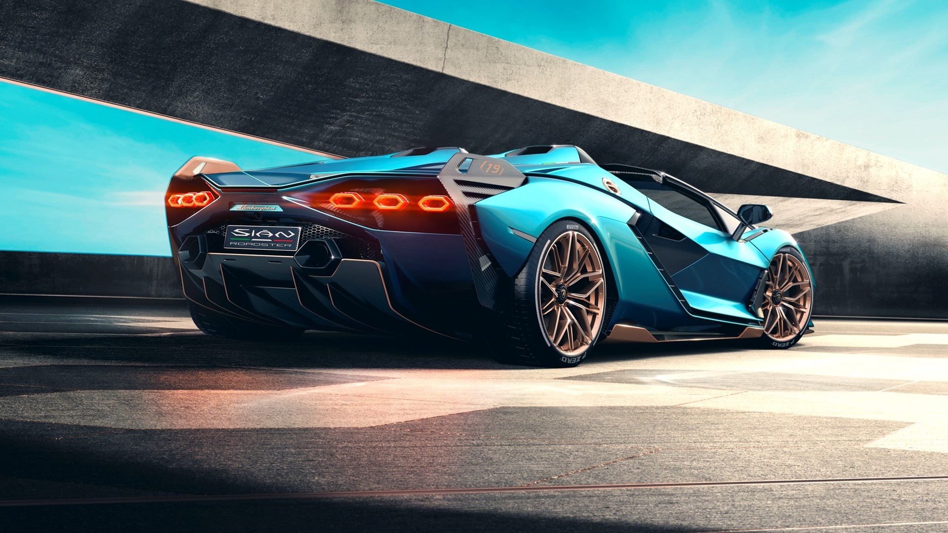 The Lamborghini Sián Roadster: Experience future technology under open skies - Image 1