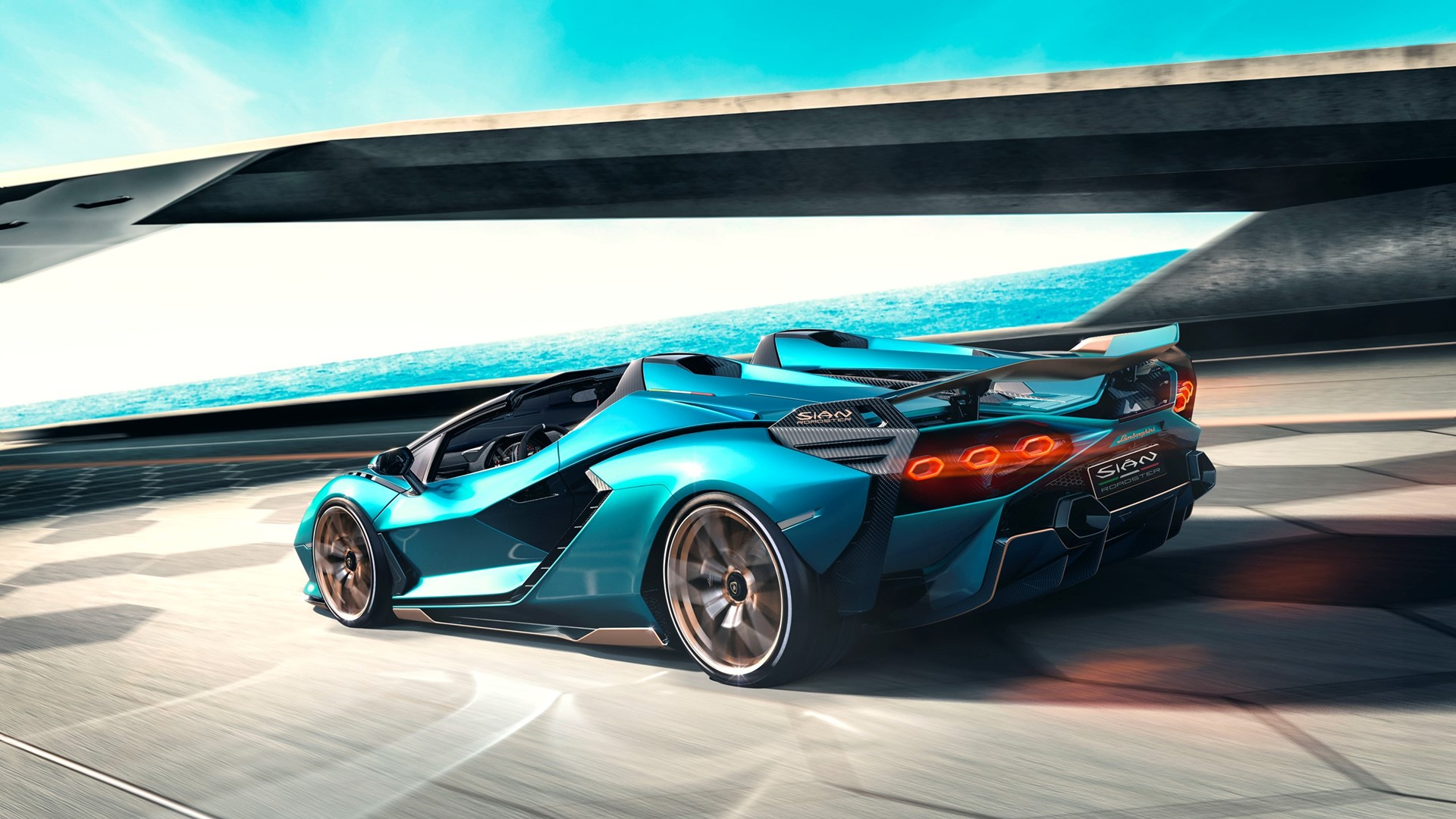 The Lamborghini Sián Roadster: Experience future technology under open skies - Image 5
