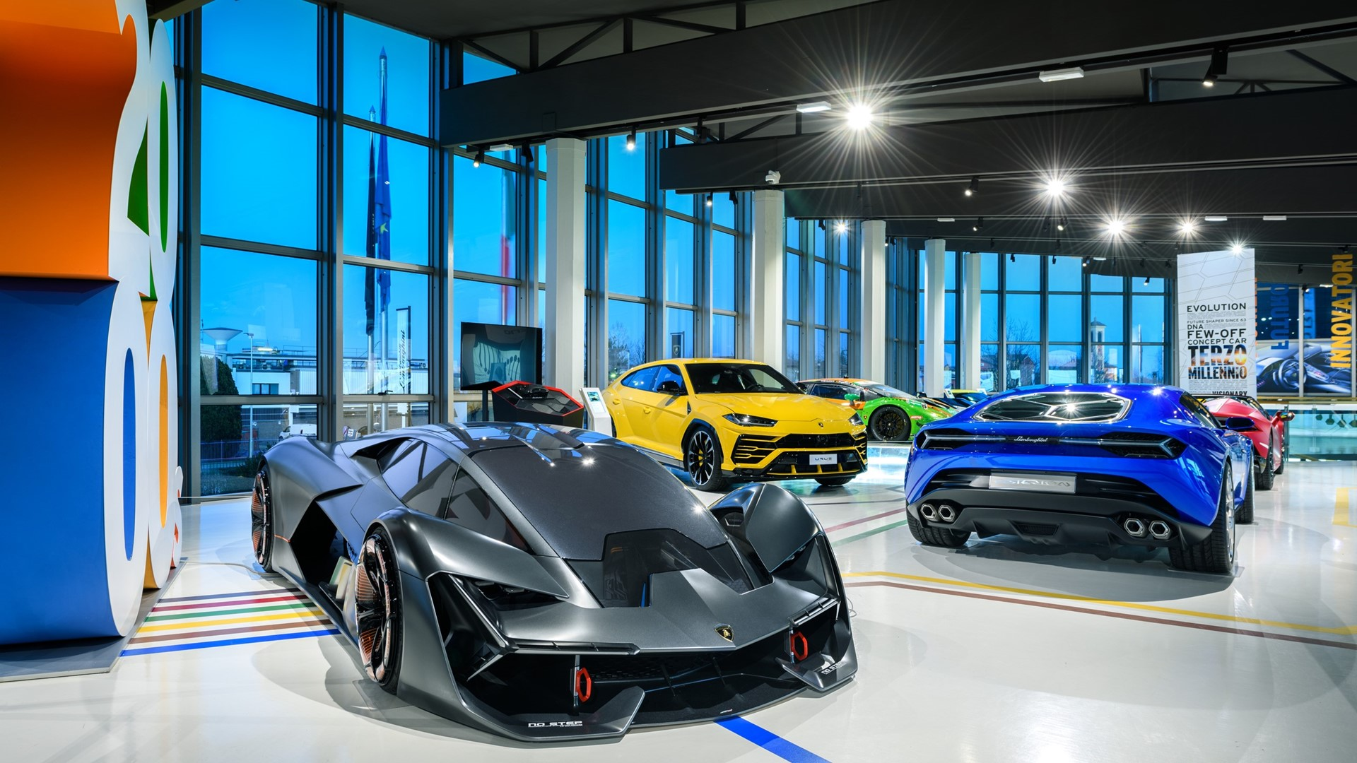 The Lamborghini Museum reopens its doors to the public The new Sián Roadster on display until 12 July - Image 8
