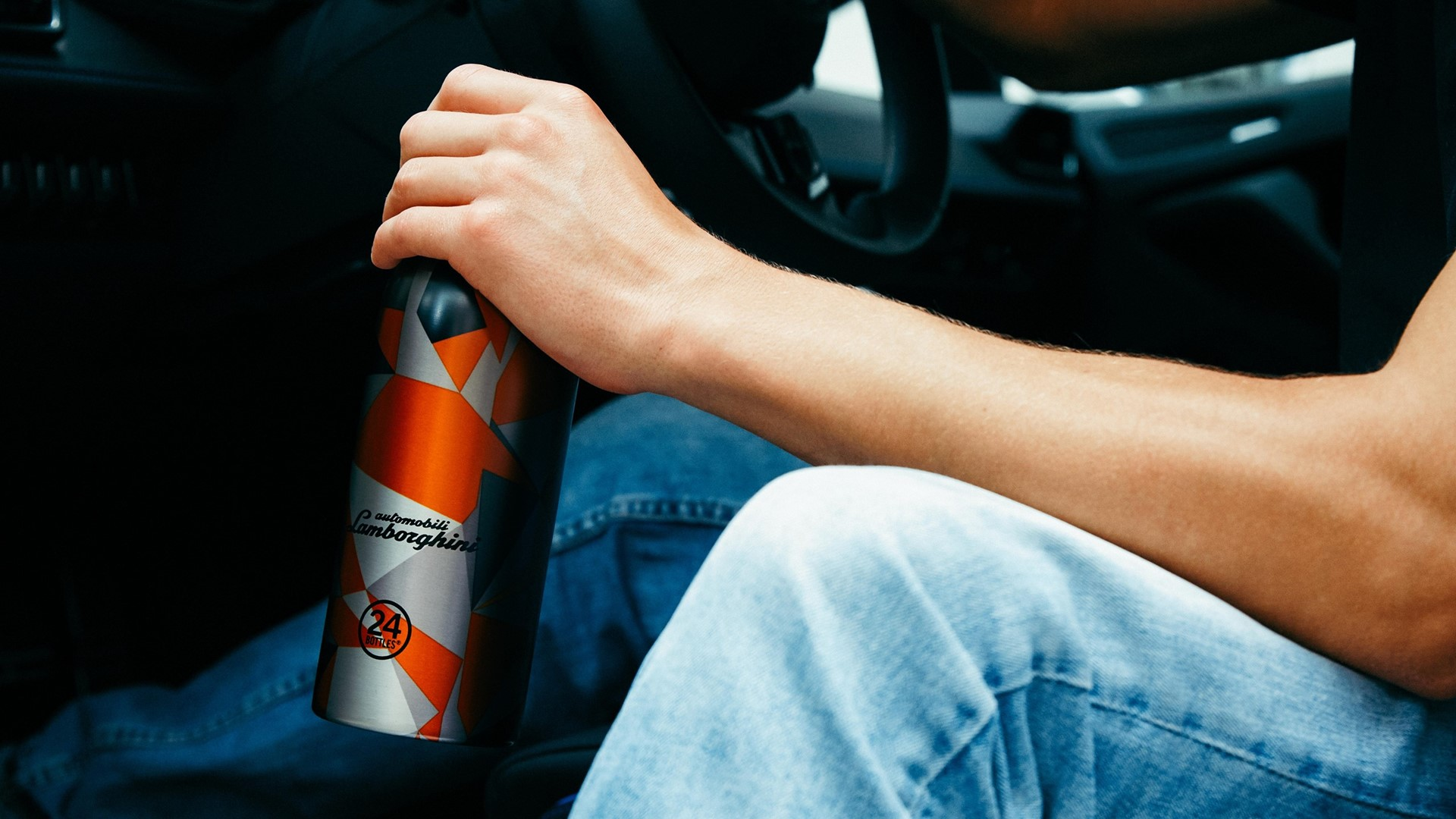Exclusive special edition Clima Bottle from 24Bottles and Automobili Lamborghini - Image 4