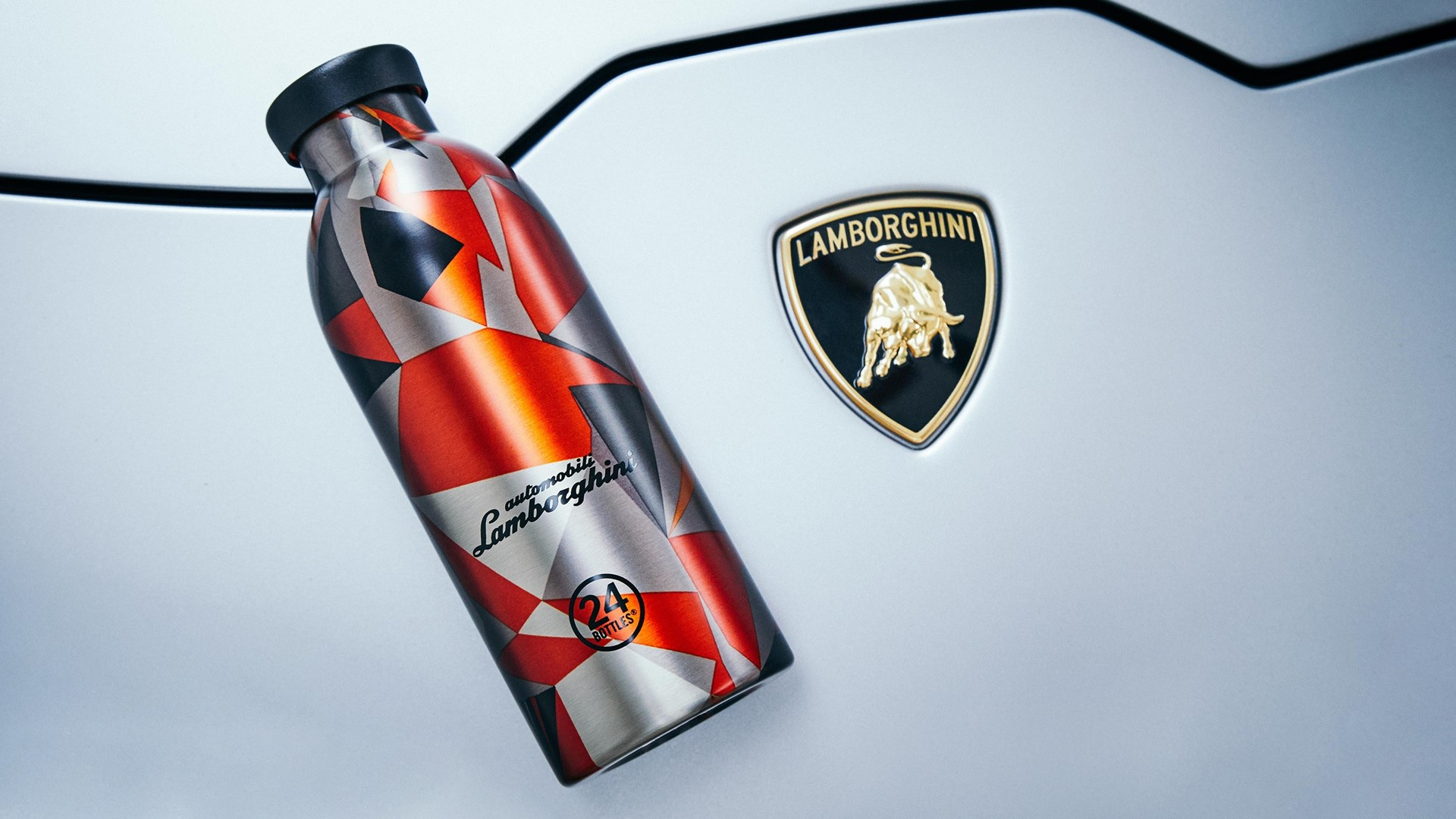 Exclusive special edition Clima Bottle from 24Bottles and Automobili Lamborghini - Image 1