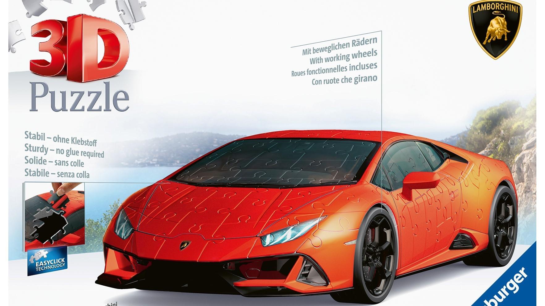 The Lamborghini Huracán EVO: build a super sports car in a 3D jigsaw puzzle - Image 4