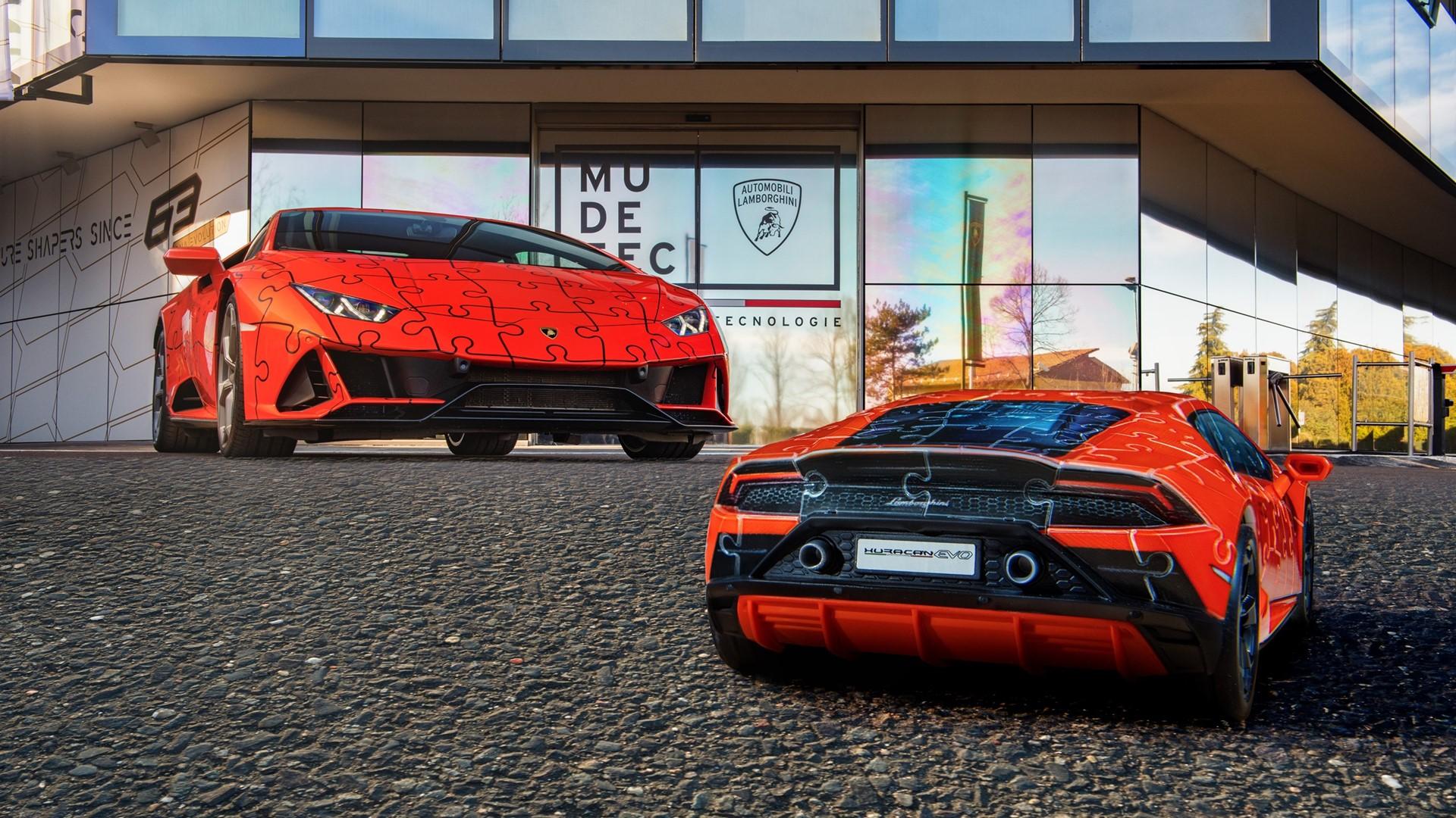 The Lamborghini Huracán EVO: build a super sports car in a 3D jigsaw puzzle - Image 5