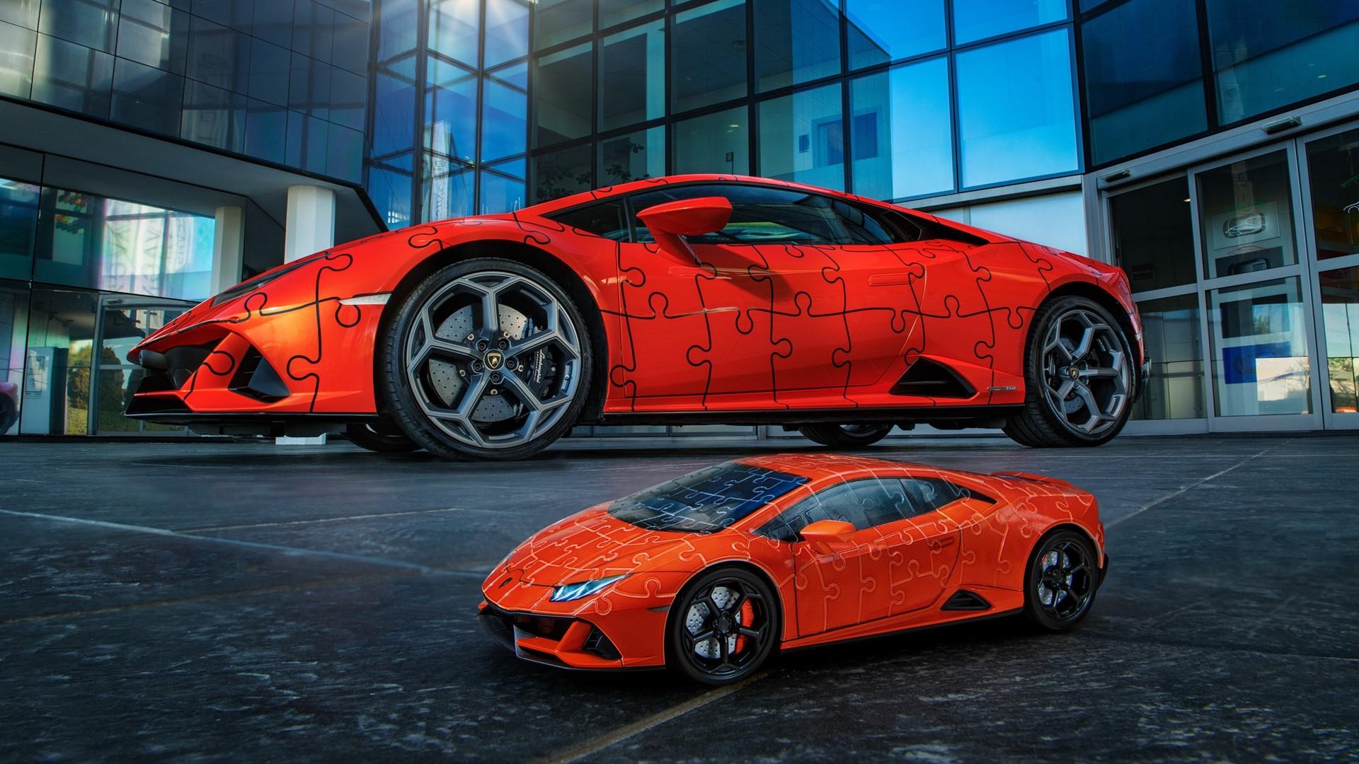 The Lamborghini Huracán EVO: build a super sports car in a 3D jigsaw puzzle - Image 3