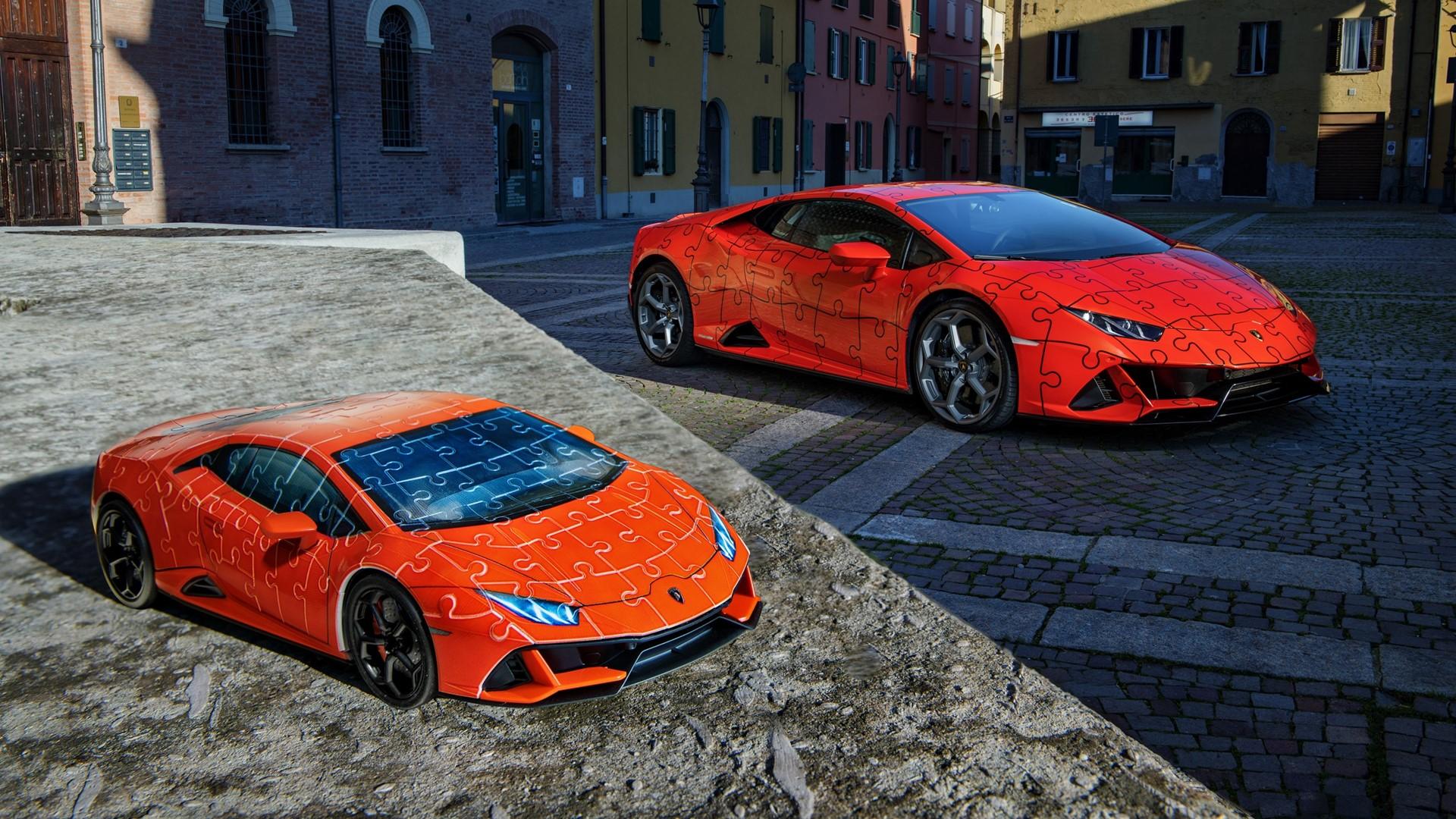 The Lamborghini Huracán EVO: build a super sports car in a 3D jigsaw puzzle - Image 1