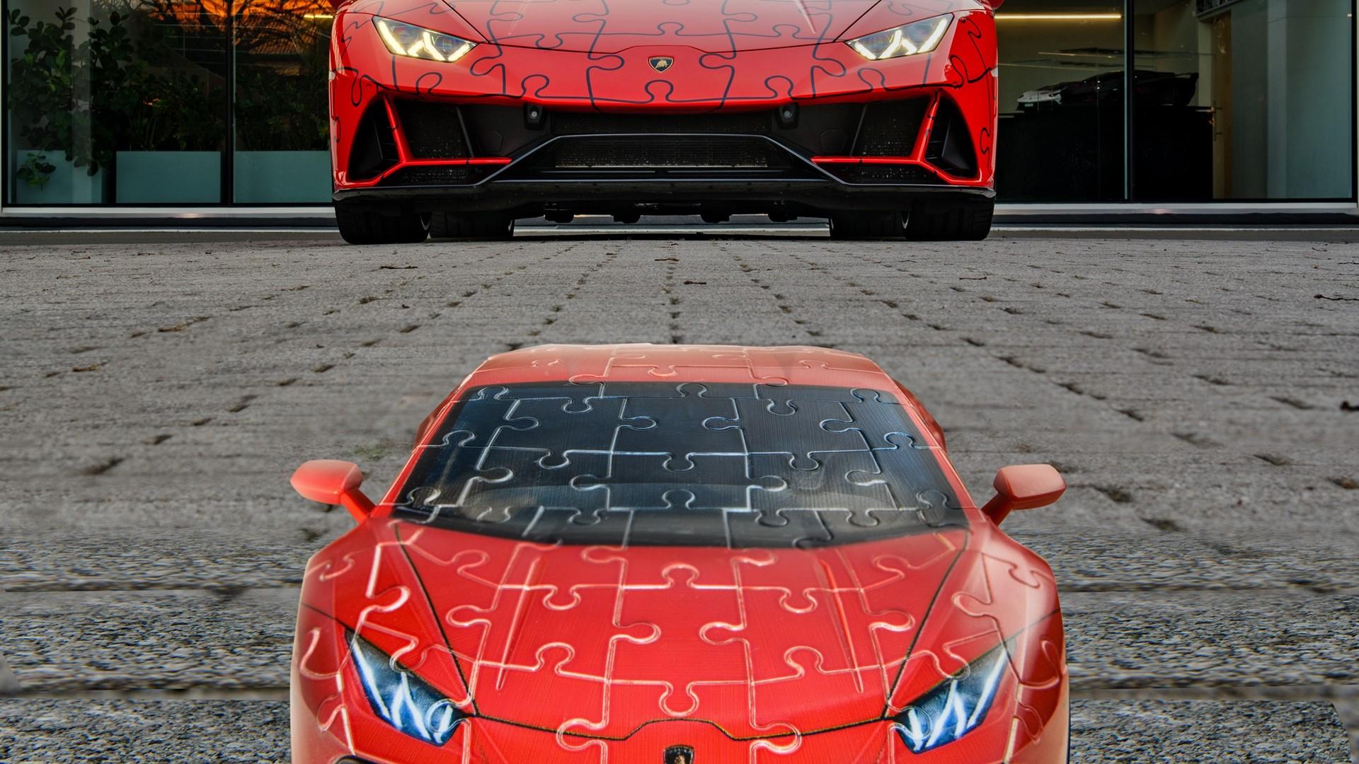The Lamborghini Huracán EVO: build a super sports car in a 3D jigsaw puzzle - Image 2