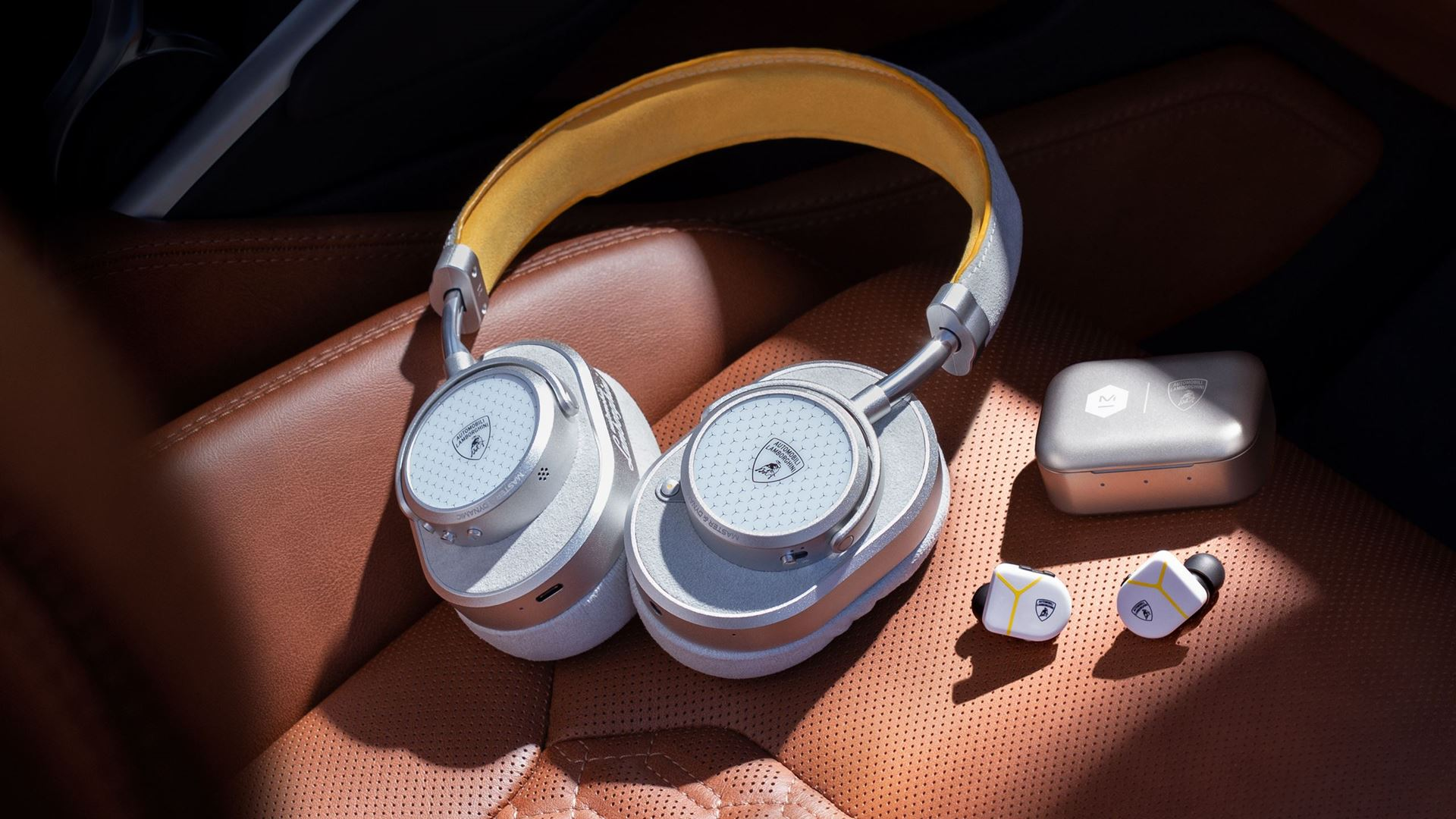 Automobili Lamborghini partners with Master & Dynamic on new headphones and earphones collection - Image 1