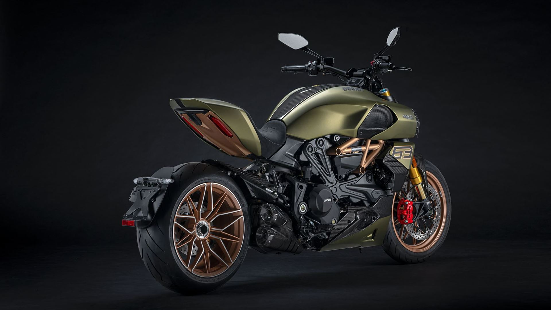 A unique project is born: Ducati Diavel 1260 Lamborghini, inspired by the Sián FKP 37 - Image 1