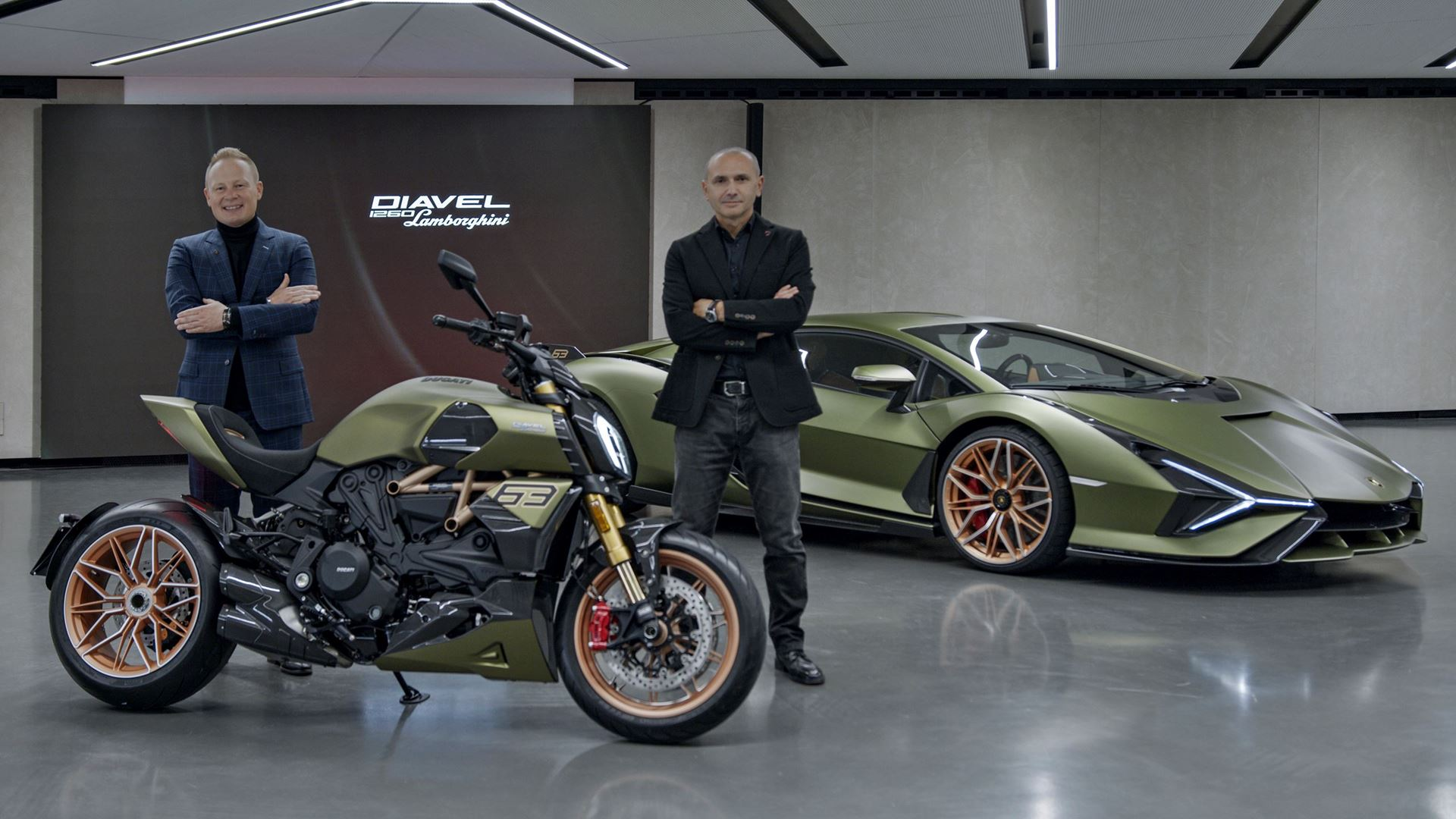 A unique project is born: Ducati Diavel 1260 Lamborghini, inspired by the Sián FKP 37 - Image 5