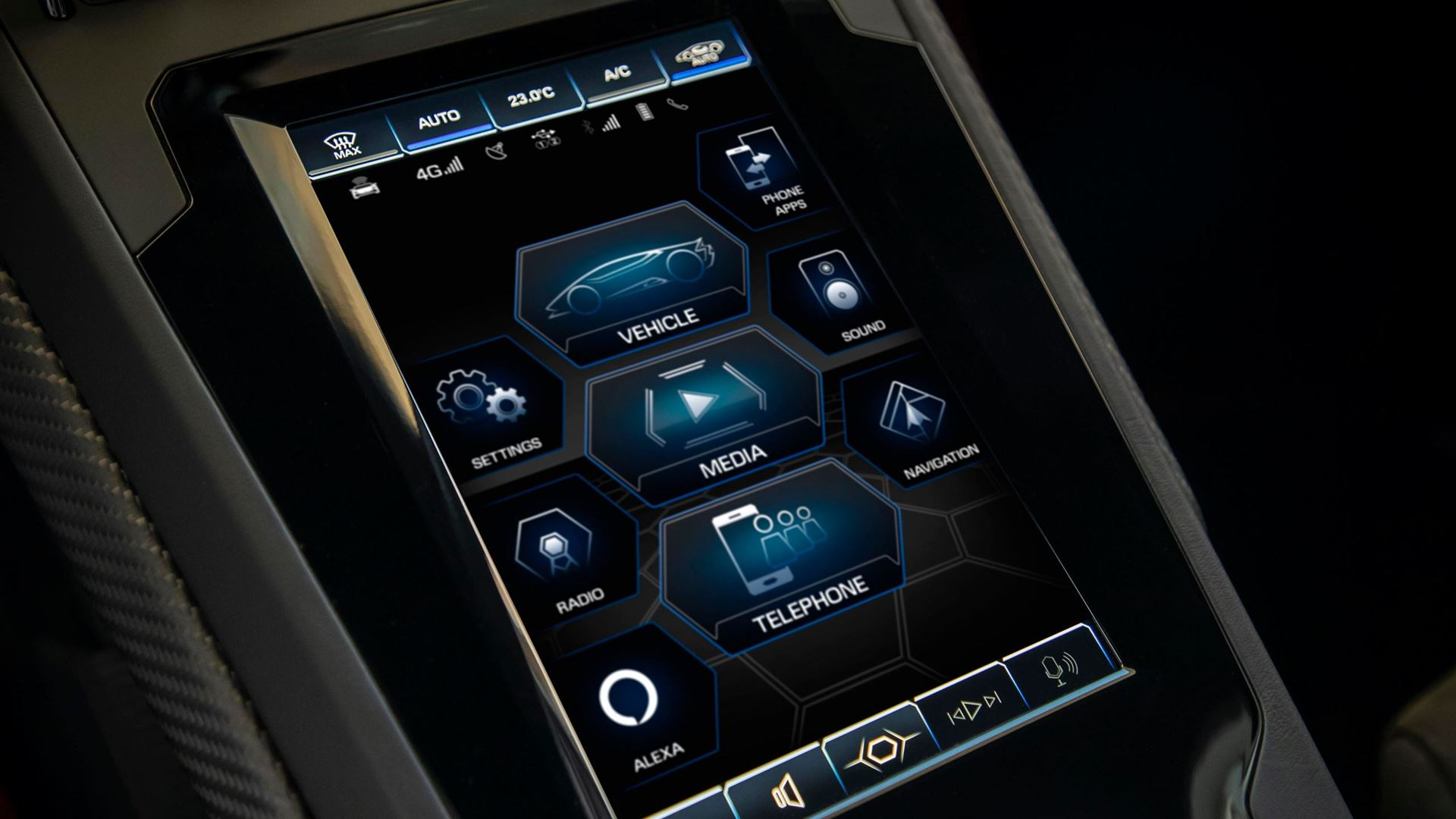 New suite of connected services for the Lamborghini Huracán EVO range: Automobili Lamborghini is first to incorporate comprehensive in-car control by Amazon Alexa - Image 7