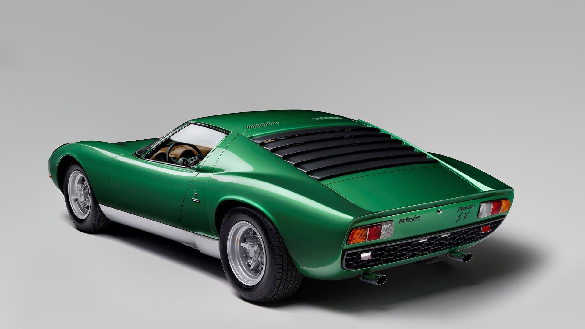 Lamborghini Miura SV turns 50 in 2021 - Image 5