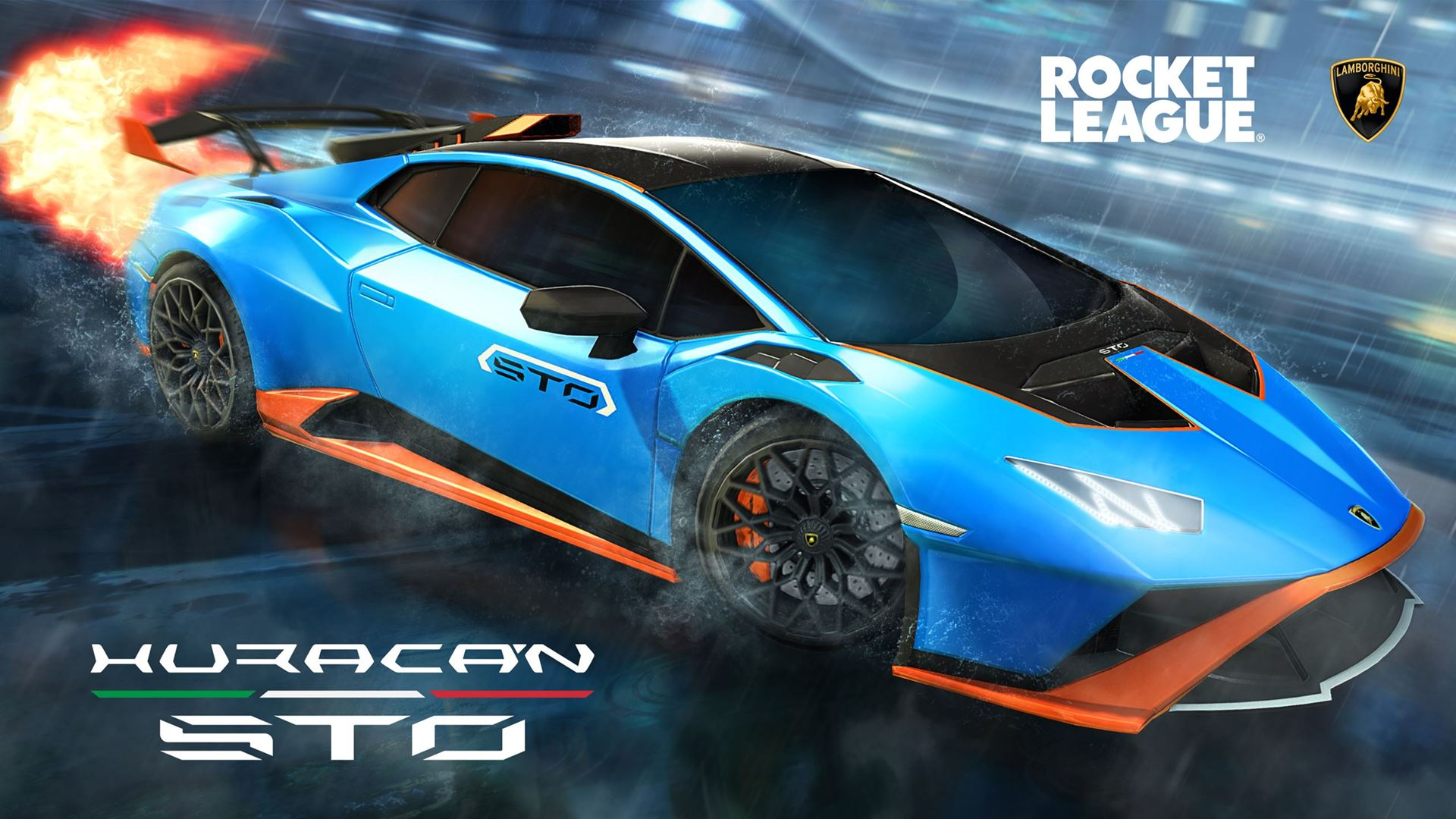 Lamborghini debuts in the Rocket League video game with the Huracán STO - Image 4