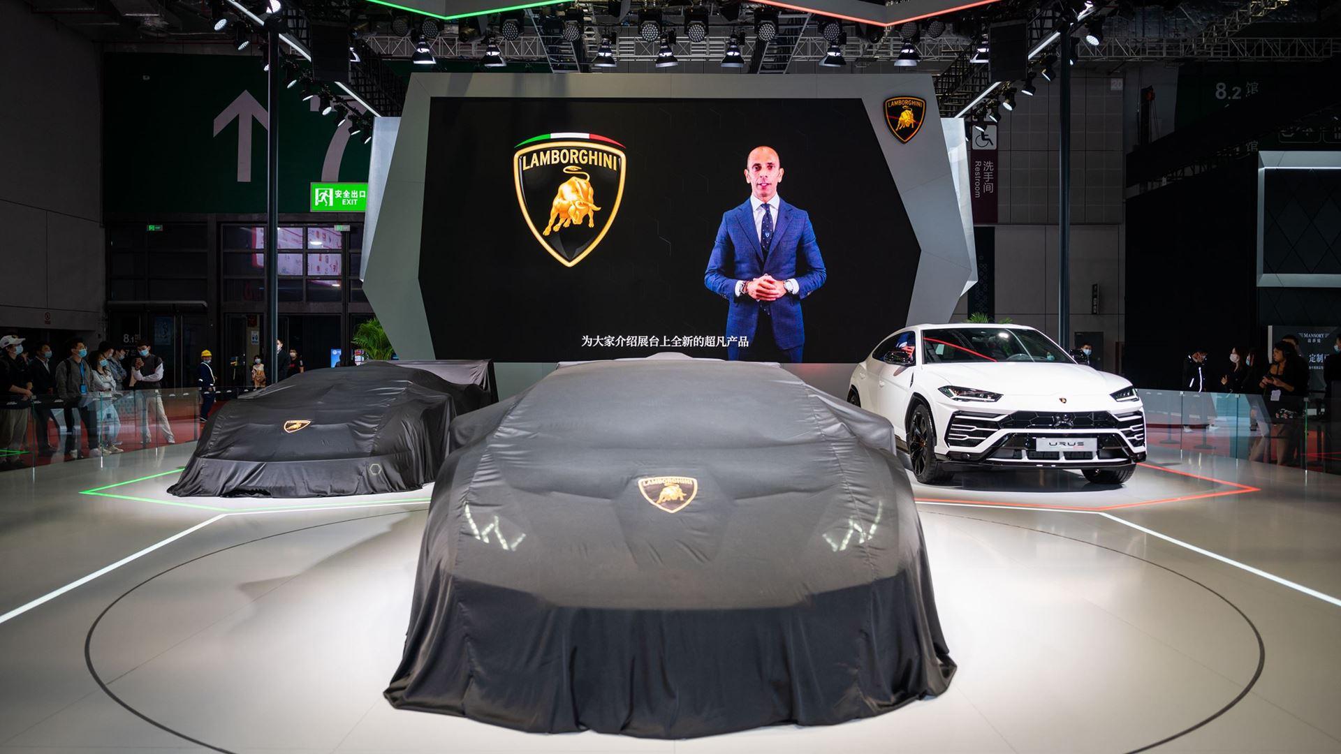 Three premieres for Automobili Lamborghini at the 2021 Shanghai Auto Show - Image 5