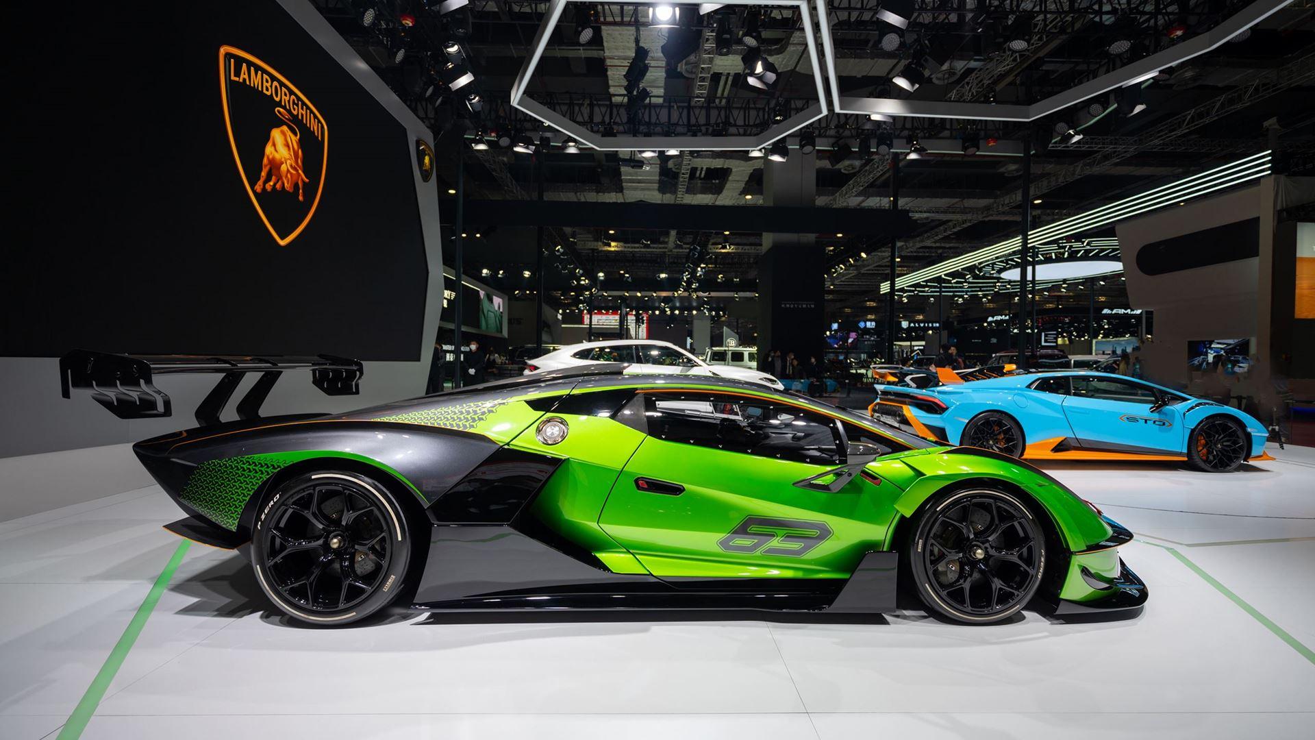 Three premieres for Automobili Lamborghini at the 2021 Shanghai Auto Show - Image 2