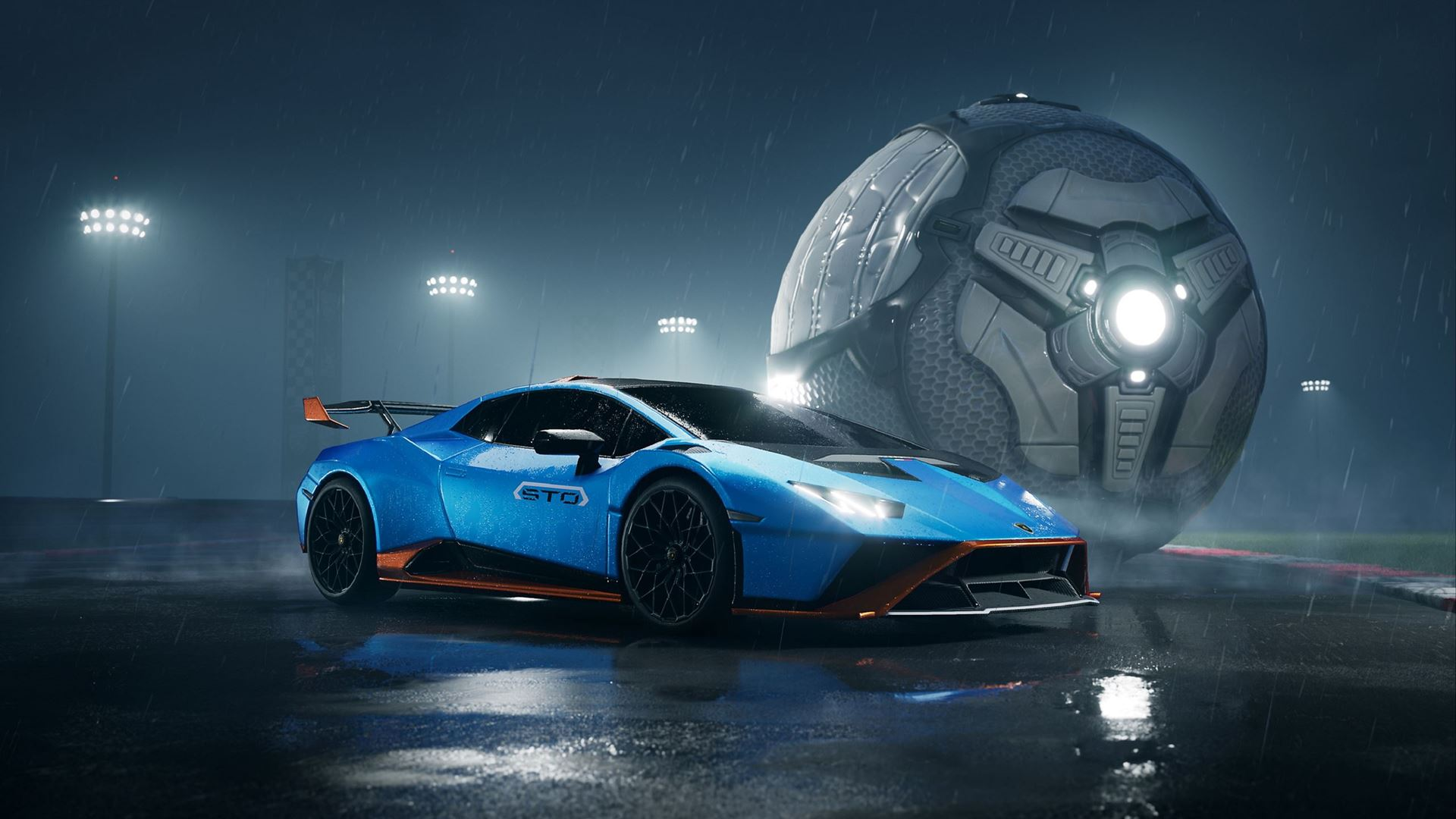Lamborghini debuts in the Rocket League video game with the Huracán STO - Image 1