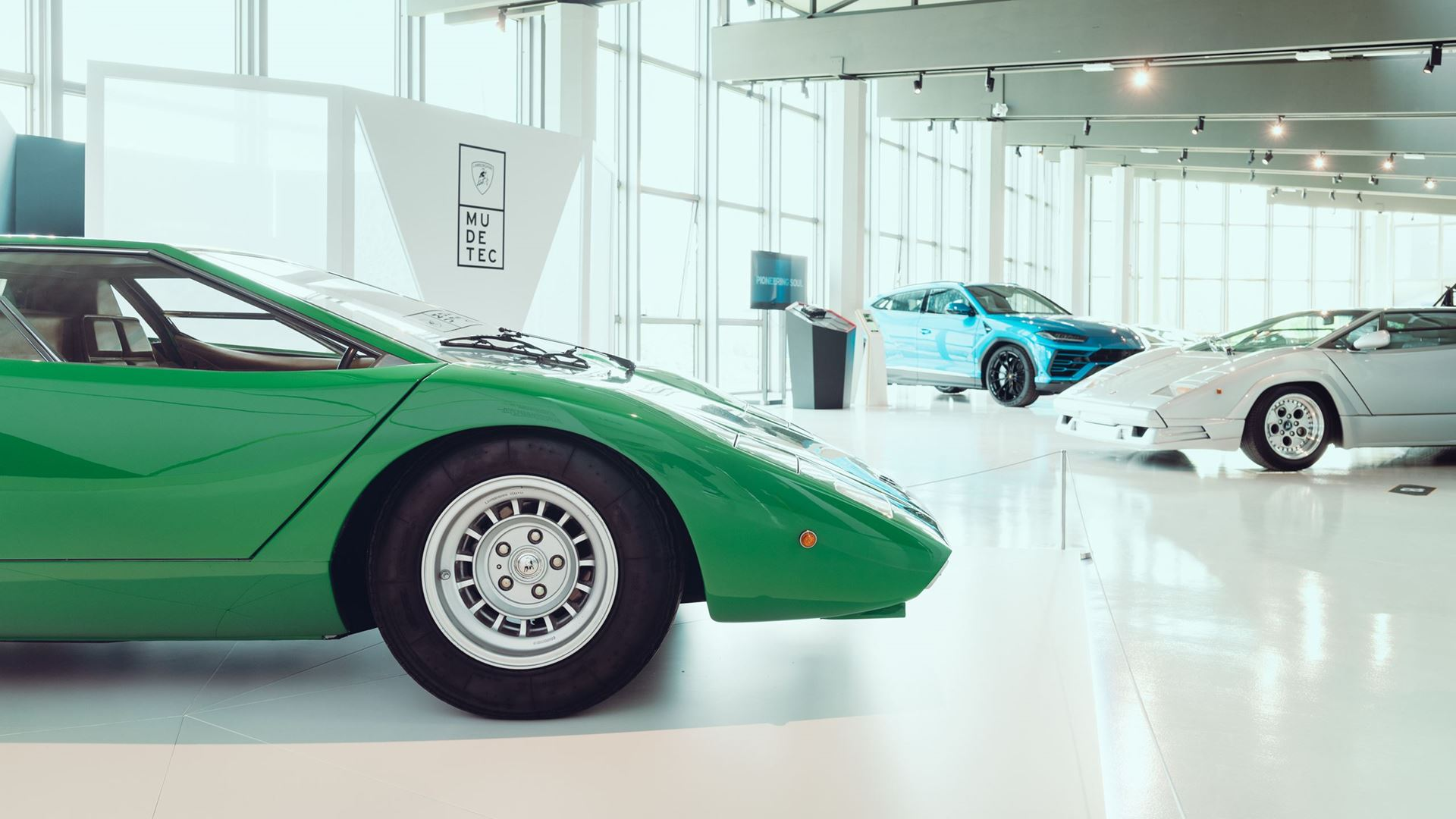 Automobili Lamborghini: The MUDETEC reopens its doors with a new exhibition around innovation and tradition - Image 1