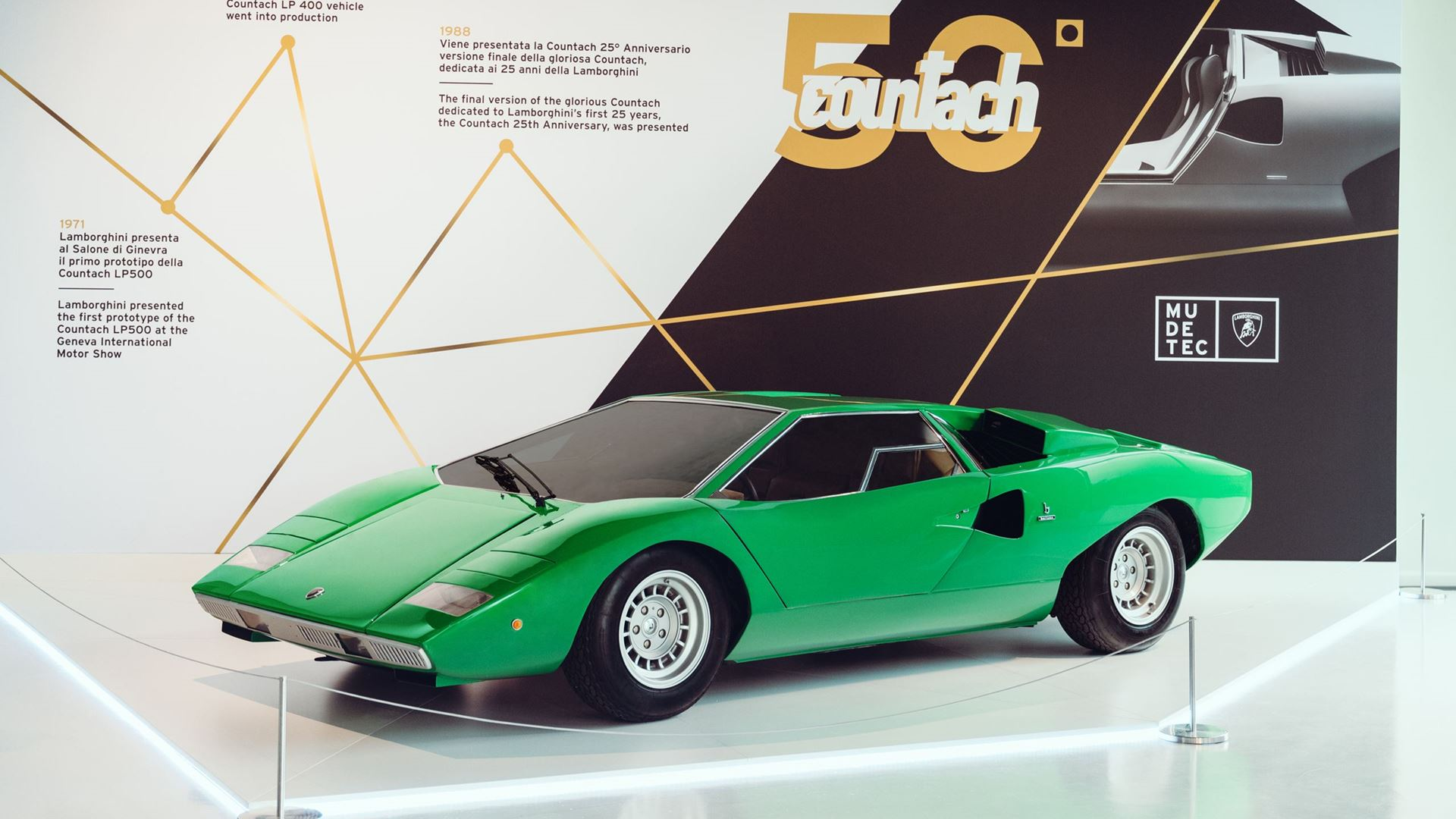 Automobili Lamborghini: The MUDETEC reopens its doors with a new exhibition around innovation and tradition - Image 6