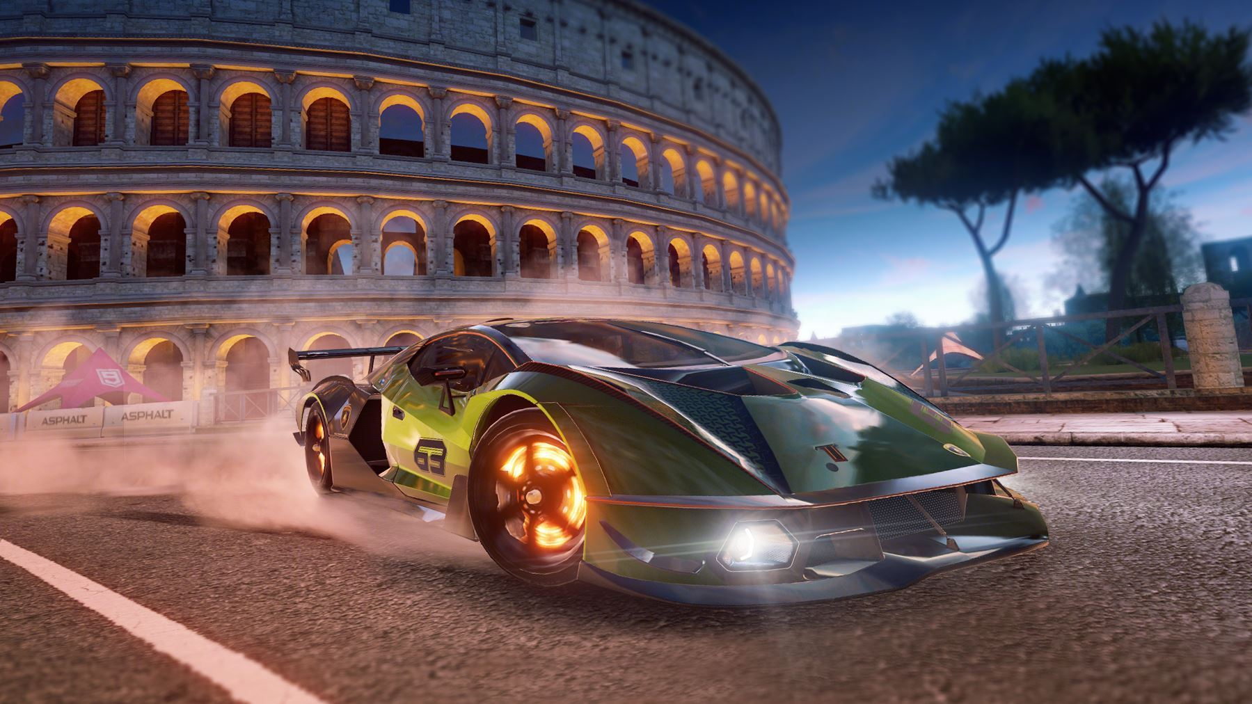 Lamborghini makes its debut in the Asphalt 9: Legends video game with the Essenza SCV12 - Image 4