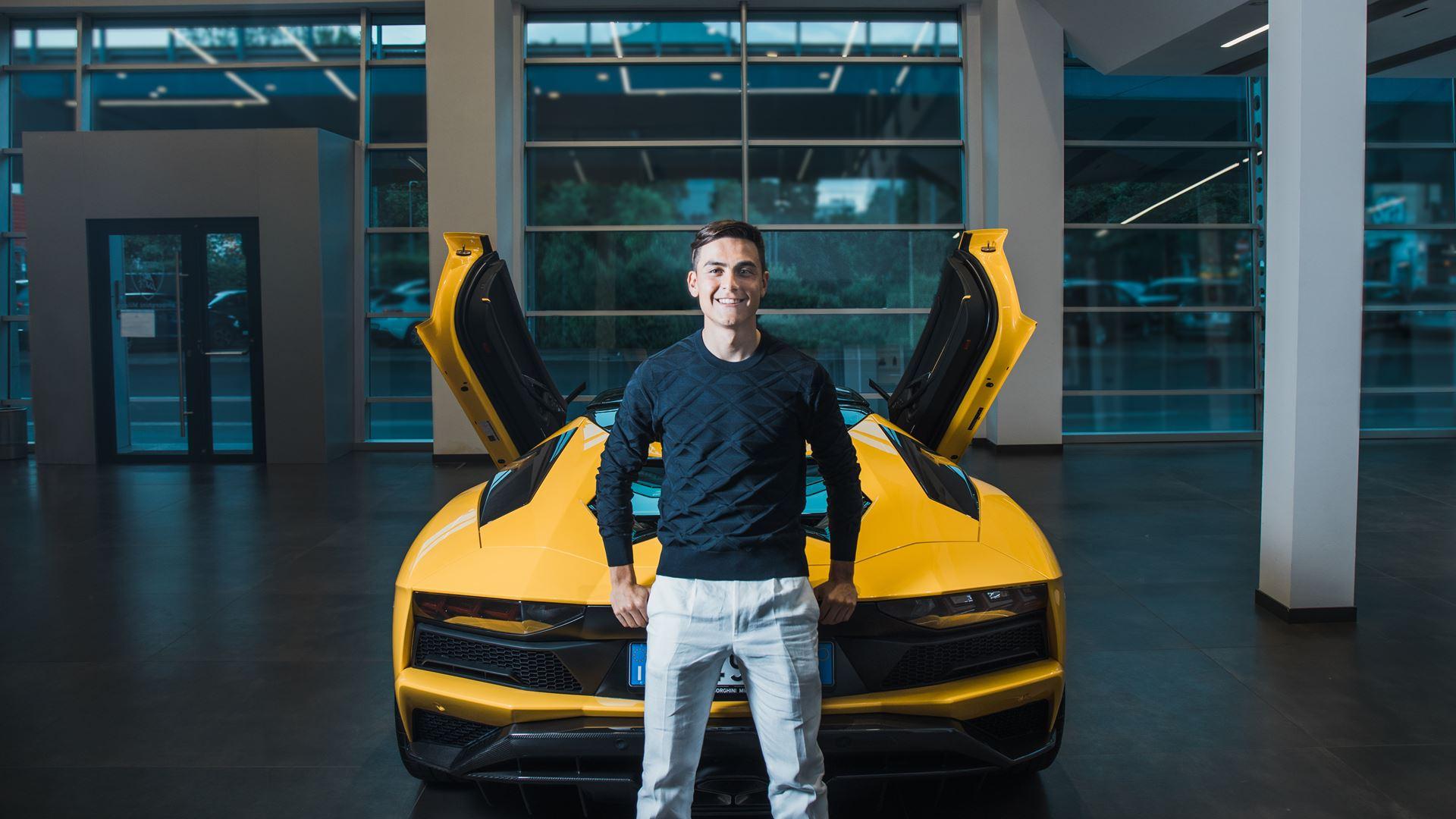 Football Star Paulo Dybala Celebrates 100th Goal with a New Lamborghini - Image 1