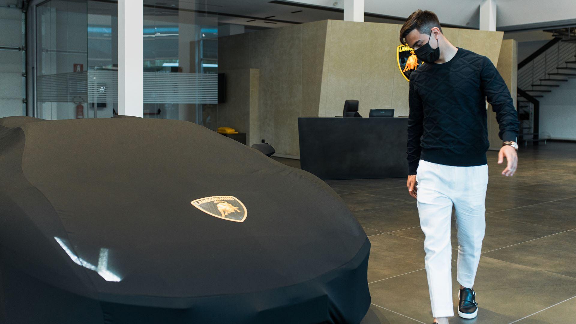 Football Star Paulo Dybala Celebrates 100th Goal with a New Lamborghini - Image 5