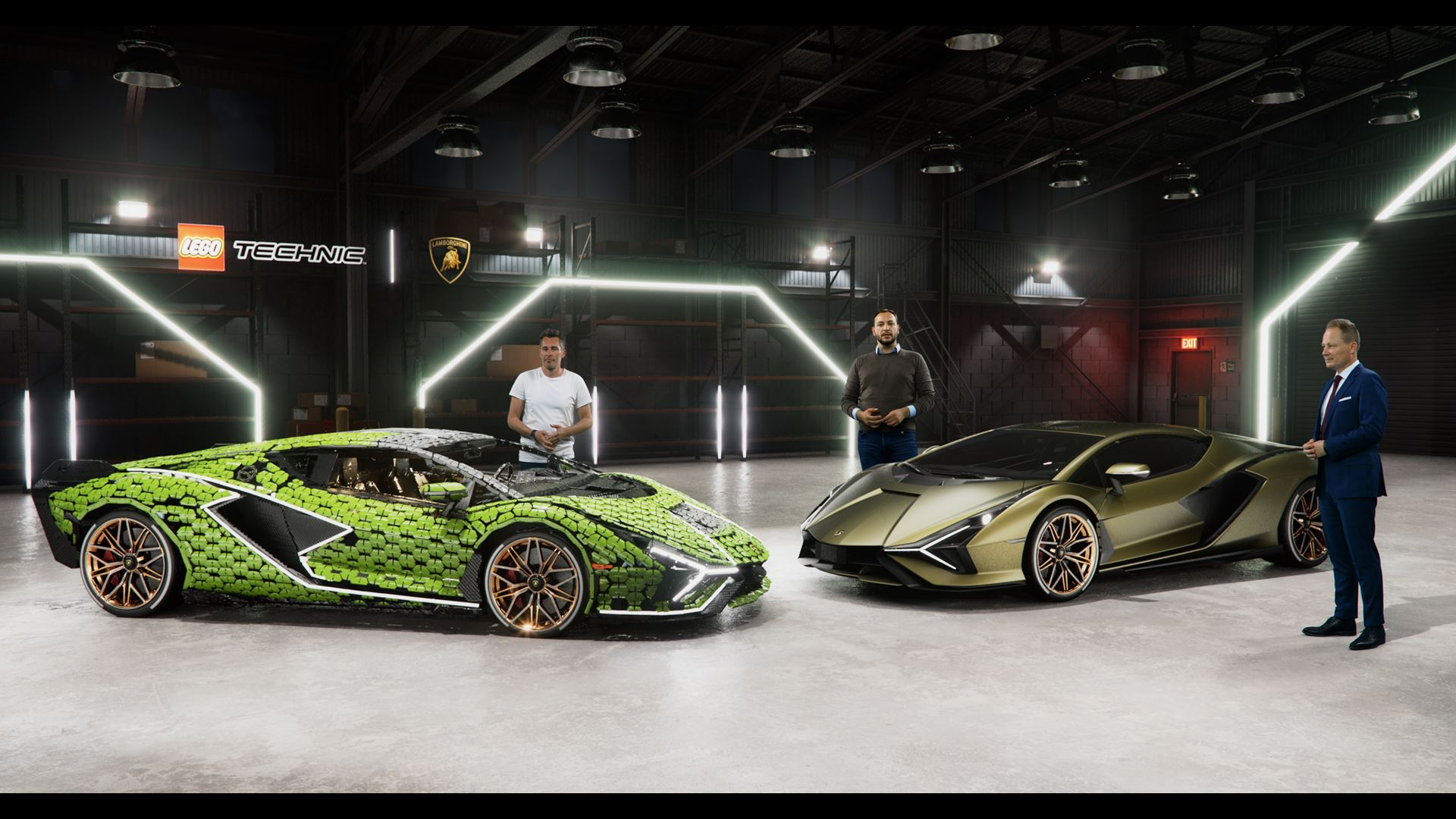 Automobili Lamborghini builds dream cars, also with LEGO® Technic™ - Life-size Lamborghini Sián FKP 37 created from over 400,000 LEGO® elements - Image 4
