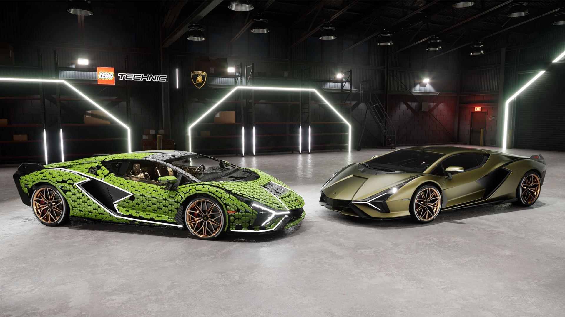 Automobili Lamborghini builds dream cars, also with LEGO® Technic™ - Life-size Lamborghini Sián FKP 37 created from over 400,000 LEGO® elements - Image 3