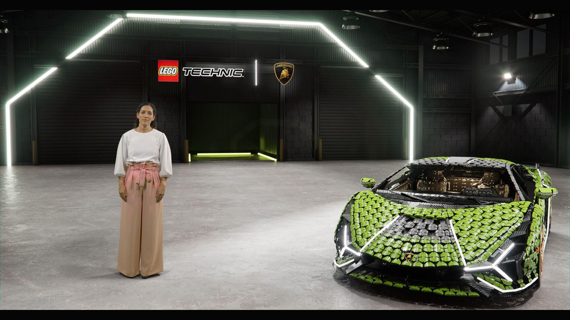 Automobili Lamborghini builds dream cars, also with LEGO® Technic™ - Life-size Lamborghini Sián FKP 37 created from over 400,000 LEGO® elements - Image 2