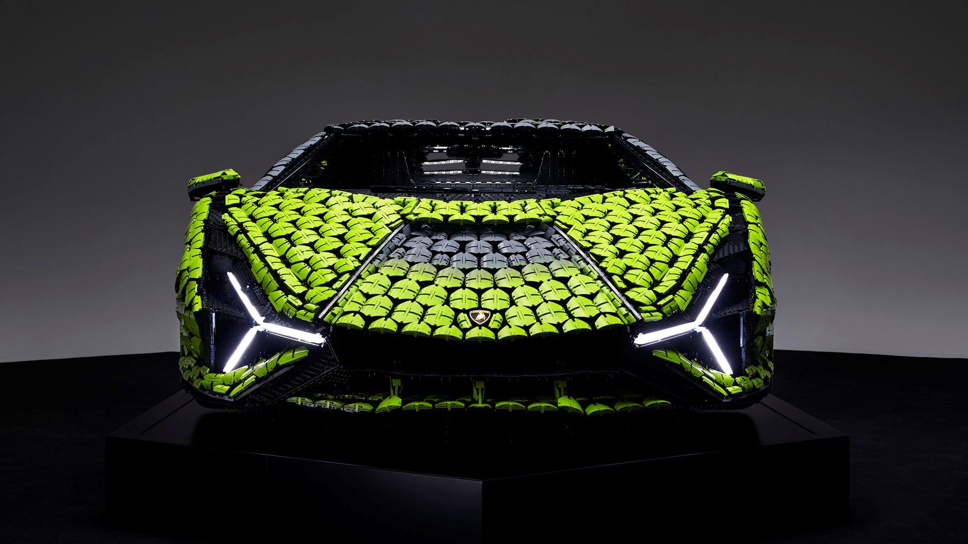 Automobili Lamborghini builds dream cars, also with LEGO® Technic™ - Life-size Lamborghini Sián FKP 37 created from over 400,000 LEGO® elements - Image 7
