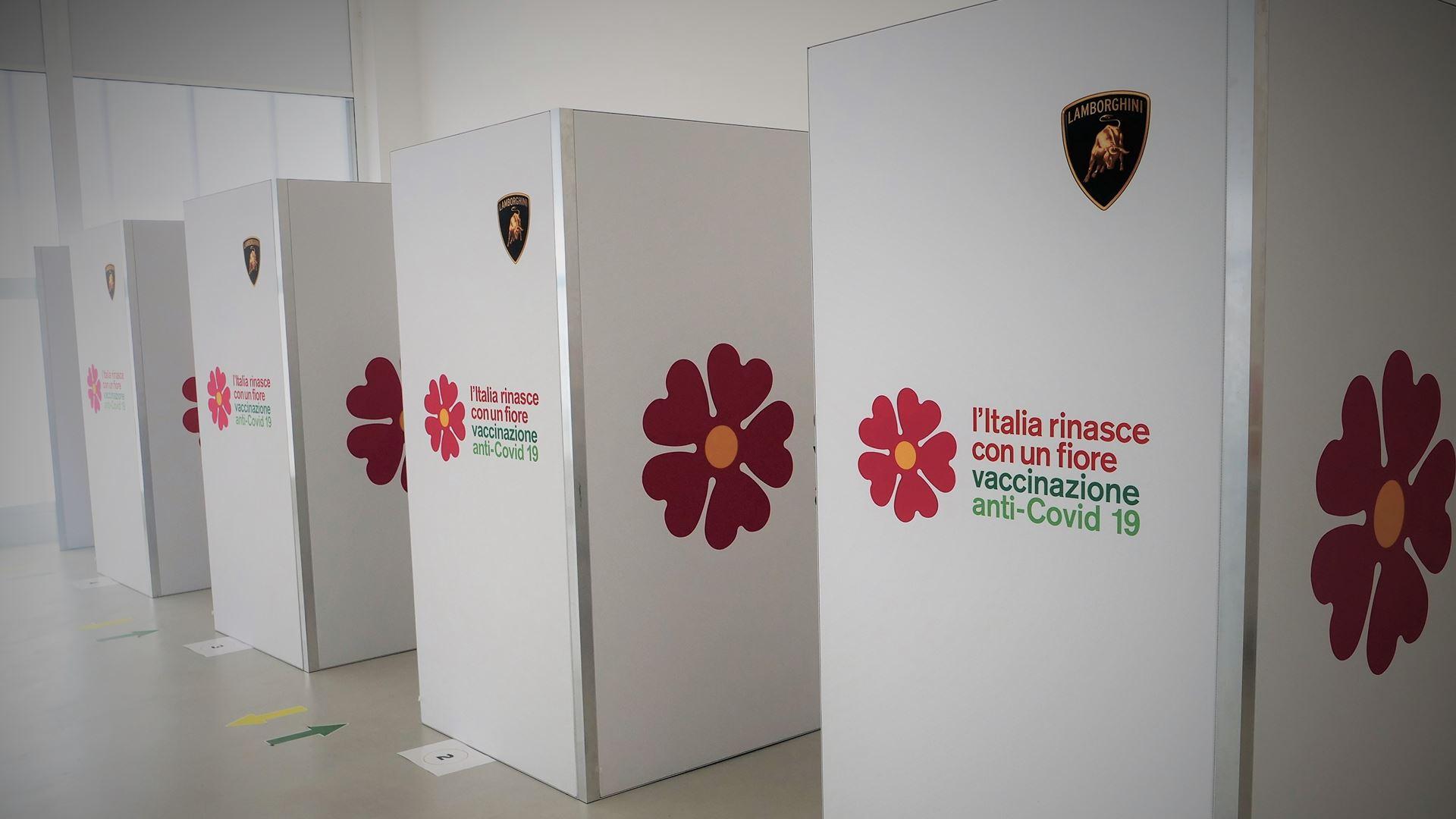 Automobili Lamborghini opens the company vaccination centre - All employees vaccinated in three day - Image 4