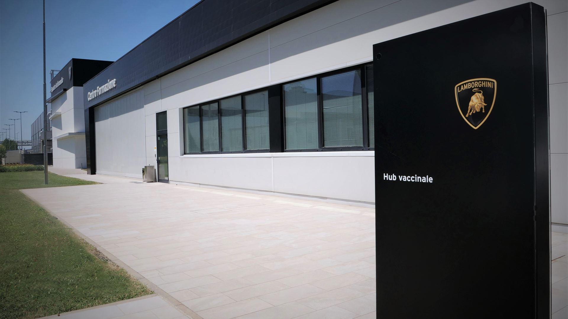 Automobili Lamborghini opens the company vaccination centre - All employees vaccinated in three day - Image 5