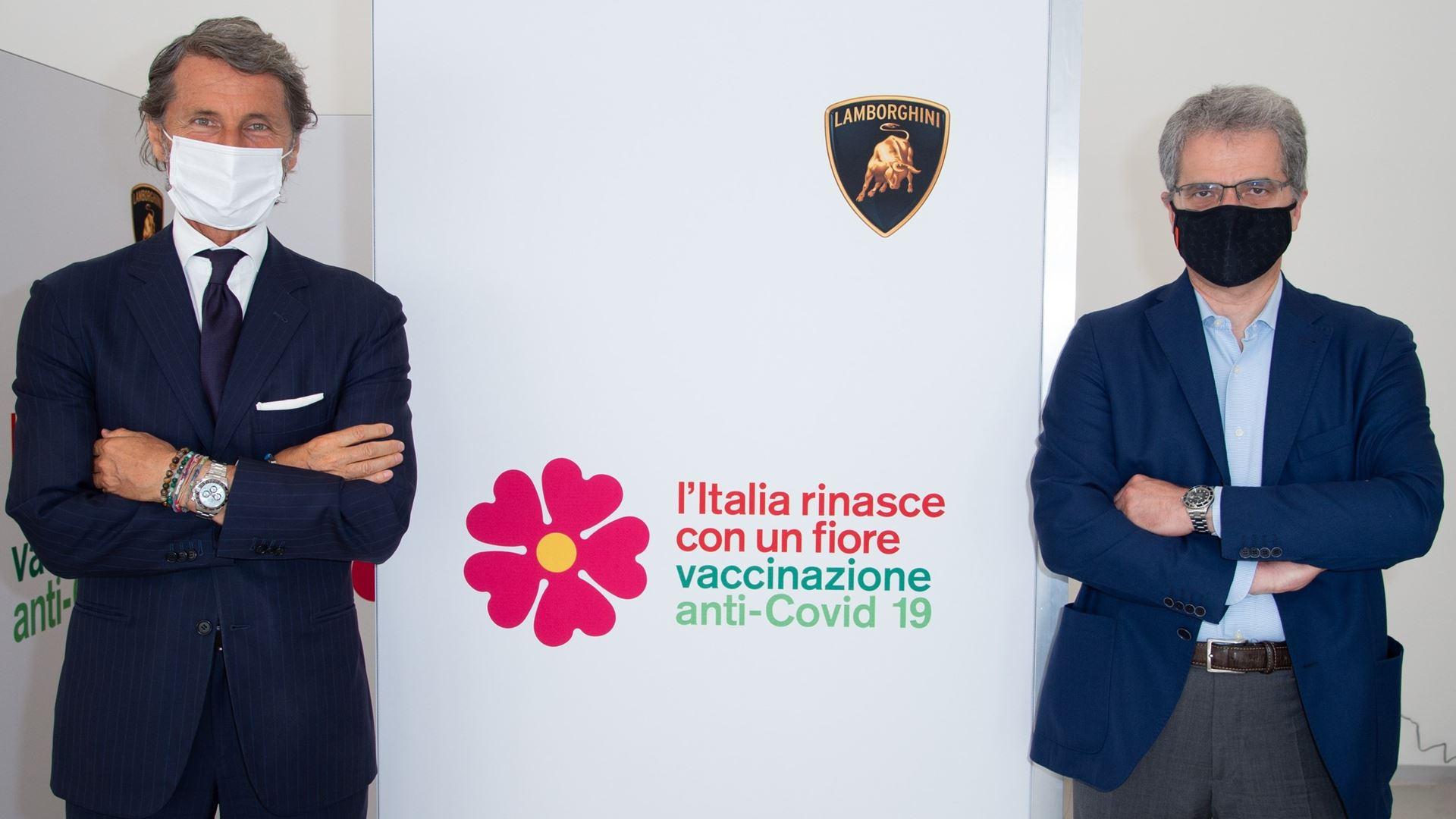 Automobili Lamborghini opens the company vaccination centre - All employees vaccinated in three day - Image 1