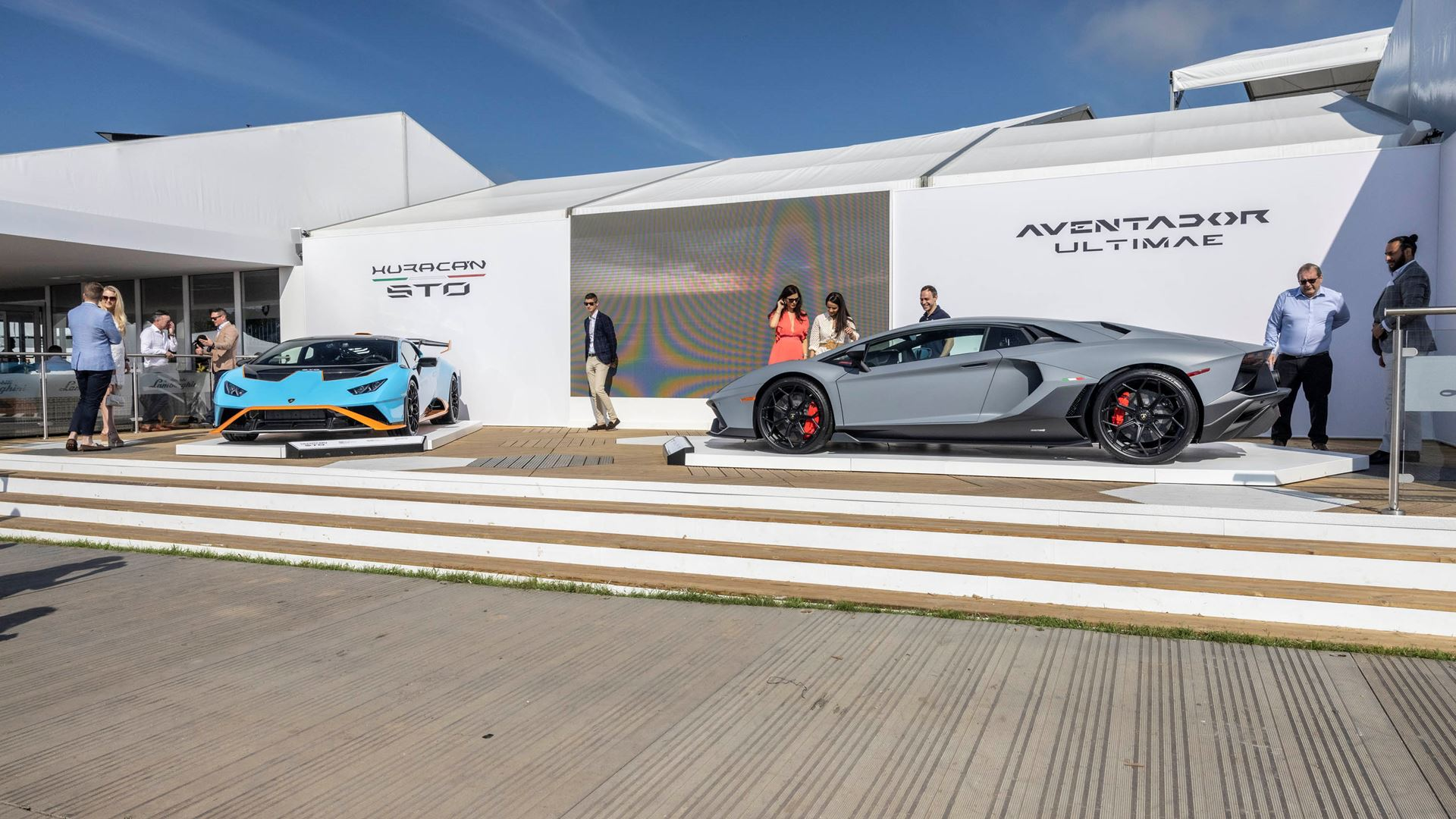 Automobili Lamborghini celebrates V12 and its Squadra Corse motorsport prowess on road and track, at Goodwood Festival of Speed 2021 - Image 8