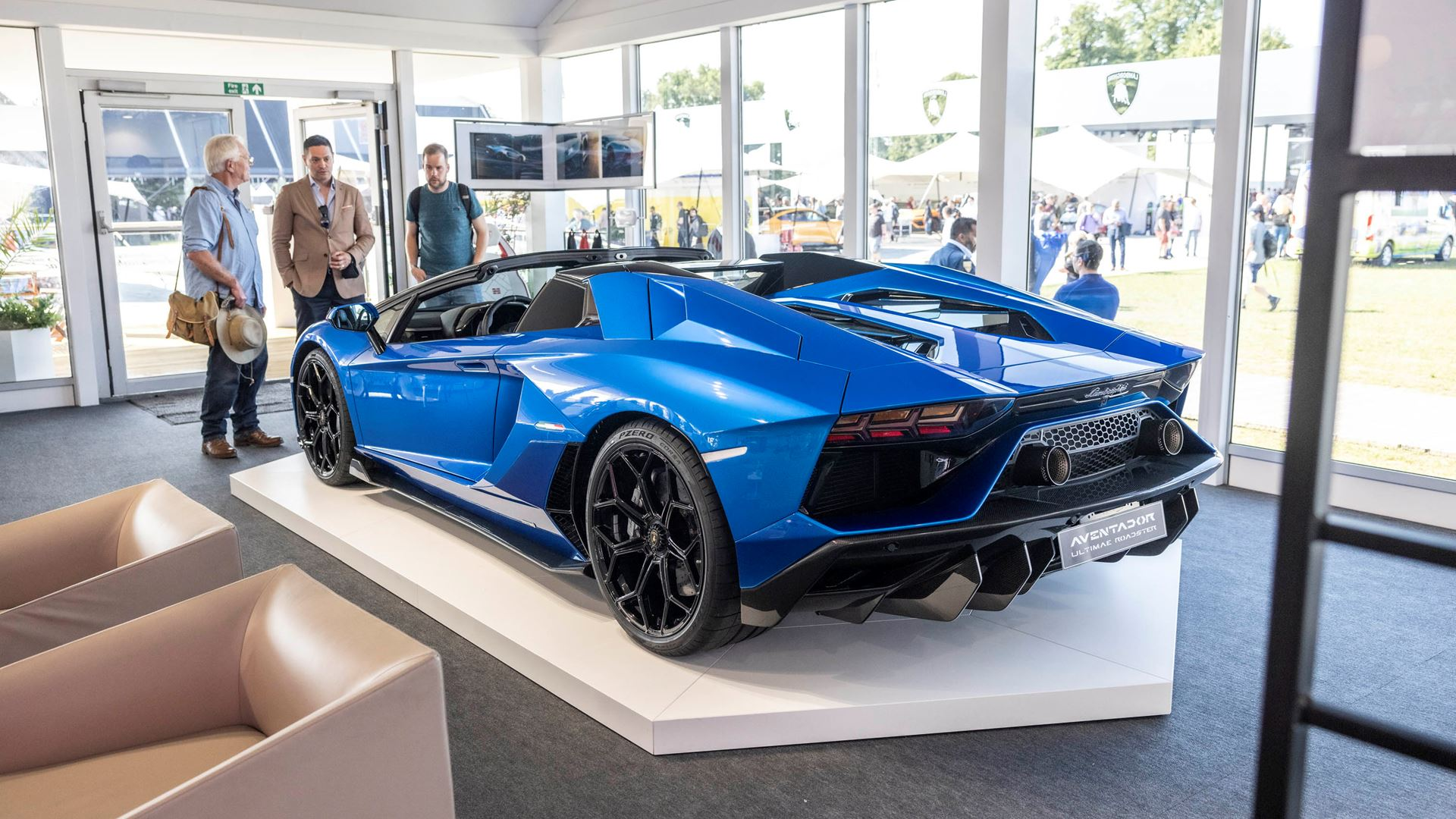 Automobili Lamborghini celebrates V12 and its Squadra Corse motorsport prowess on road and track, at Goodwood Festival of Speed 2021 - Image 6