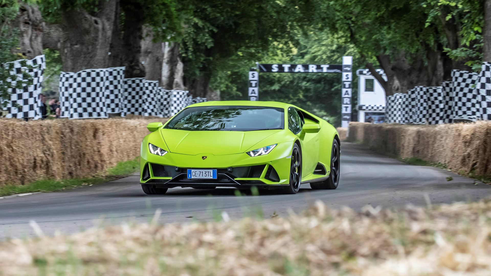 Automobili Lamborghini celebrates V12 and its Squadra Corse motorsport prowess on road and track, at Goodwood Festival of Speed 2021 - Image 4