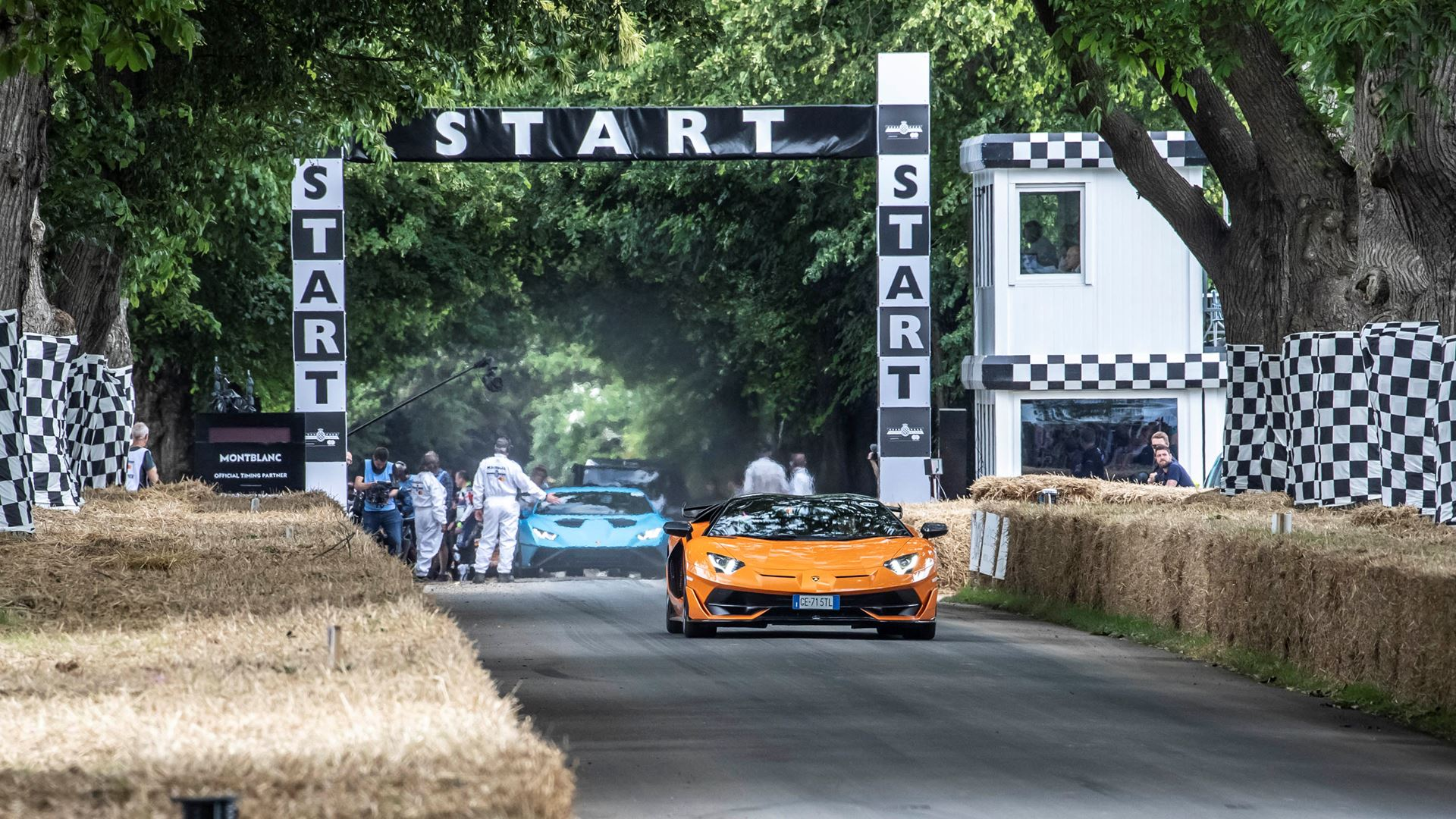 Automobili Lamborghini celebrates V12 and its Squadra Corse motorsport prowess on road and track, at Goodwood Festival of Speed 2021 - Image 3