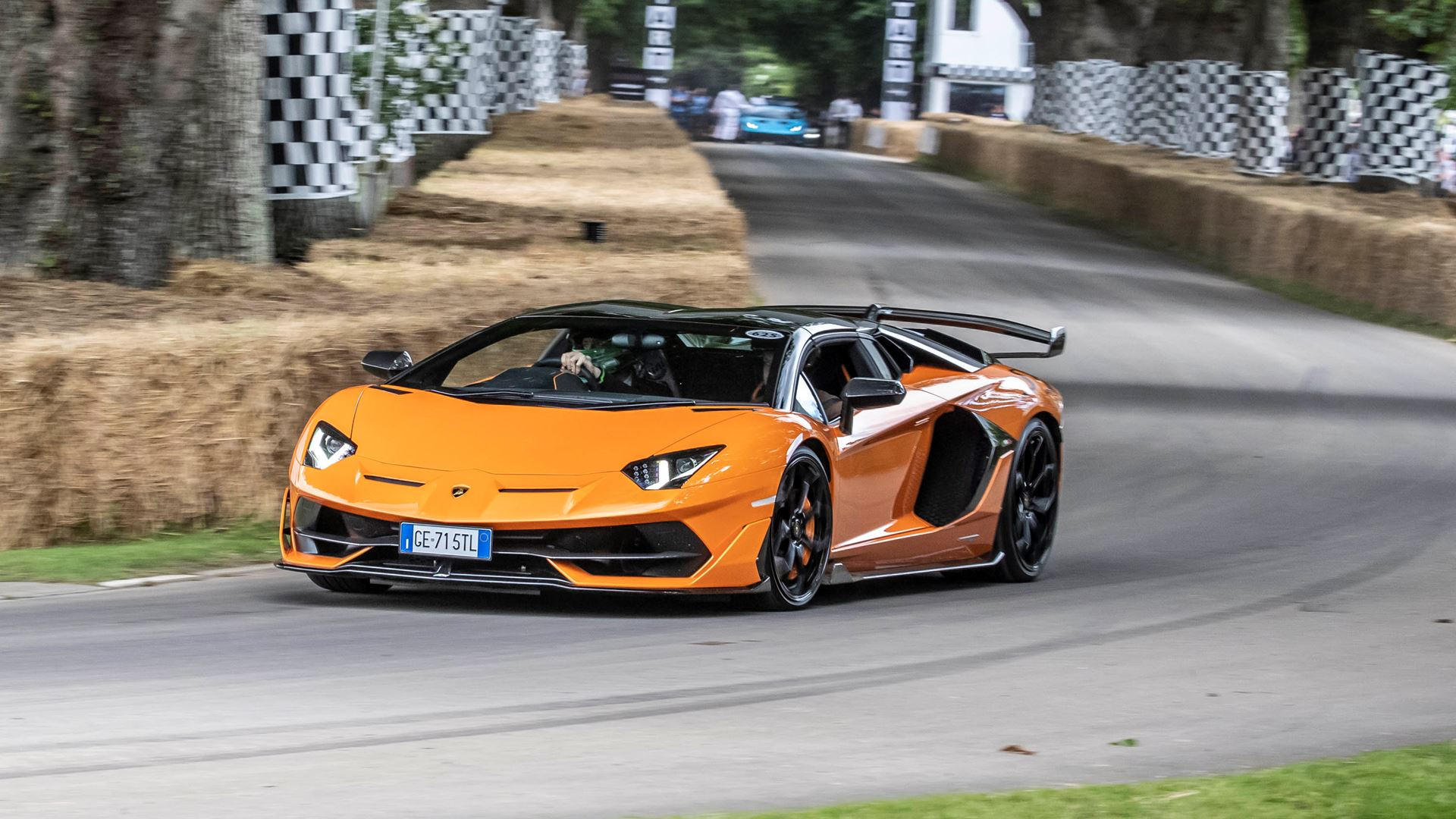 Automobili Lamborghini celebrates V12 and its Squadra Corse motorsport prowess on road and track, at Goodwood Festival of Speed 2021 - Image 2