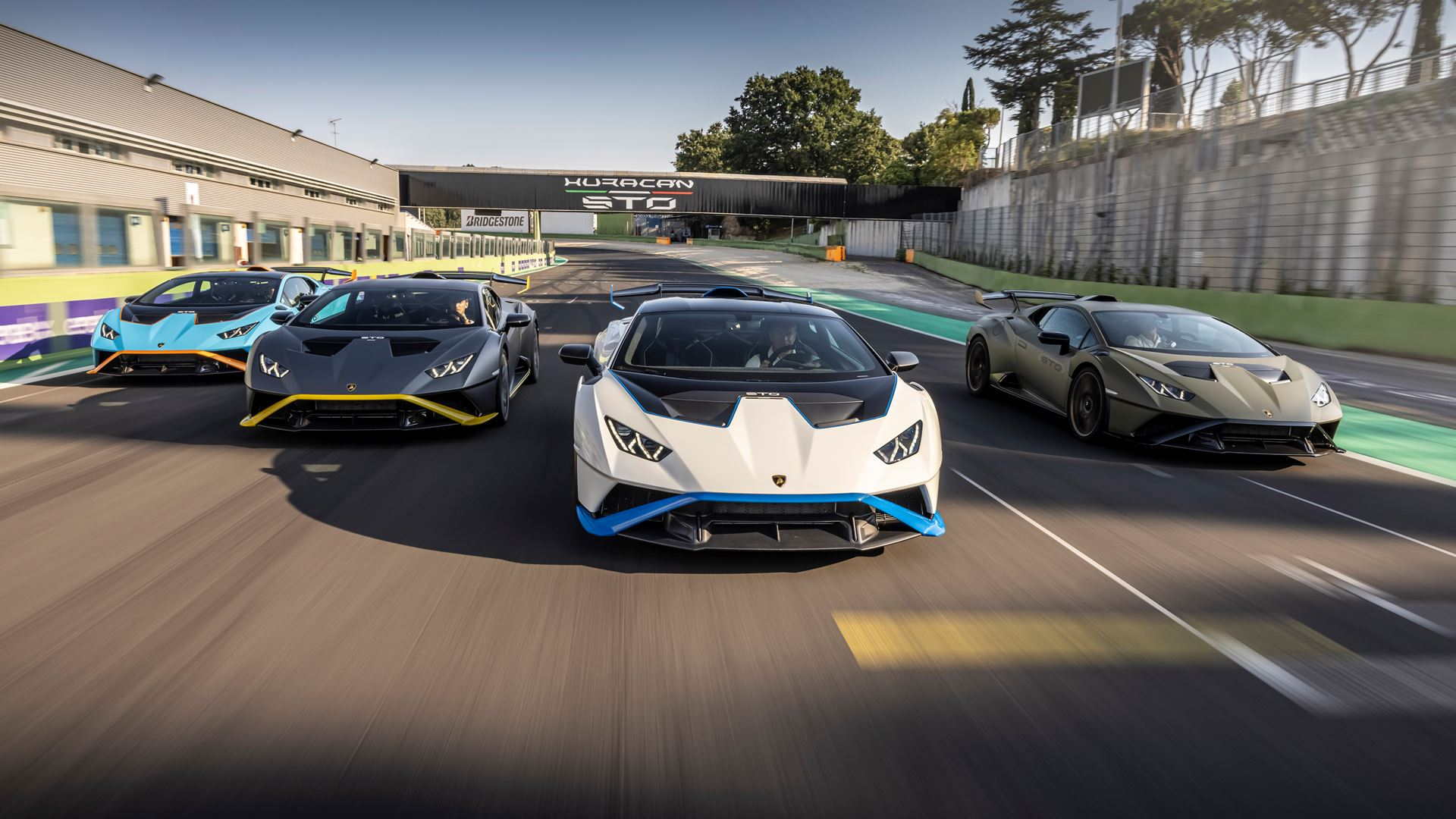 Lamborghini Huracán STO finally unleashed First test-drives in Rome and at the Autodromo Piero Taruffi in Vallelunga - Image 8