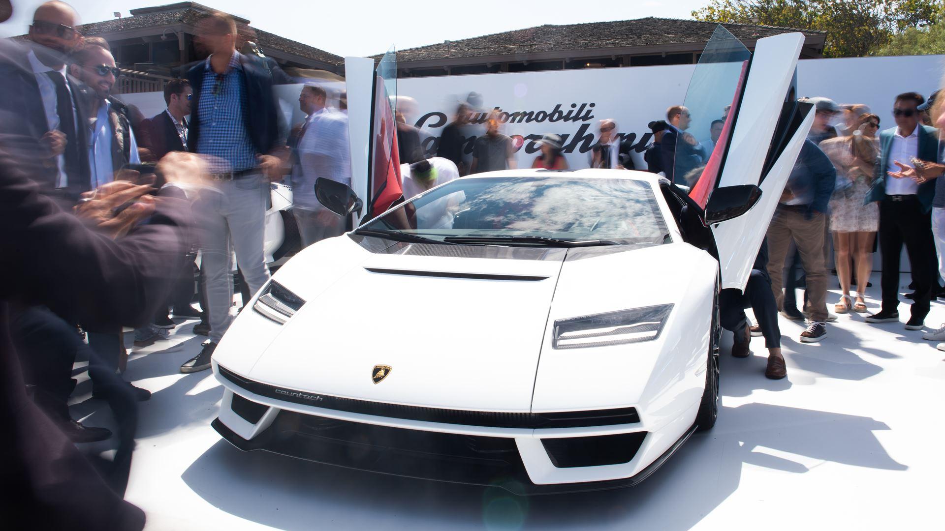 Lamborghini Kicks Off Monterey Car Week with Countach LPI 800-4 Global Debut at The Quail, A Motorsports Gathering - Image 6