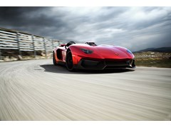 Lamborghini Aventador J: worldwide premiere at the 2012 Geneva Motor Show Radically open, extremely powerful