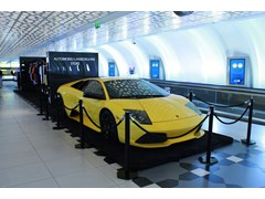 Collezione Automobili Lamborghini Makes its Debut in Travel Retail at Abu Dhabi International Airport