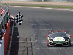 Jeroen Mul scores double in Silverstone Lamborghini Blancpain Super Trofeo