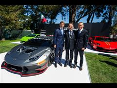 Lamborghini Huracán LP 620-2 Super Trofeo makes Global Debut at 'The Quail, A Motorsports Gathering'
