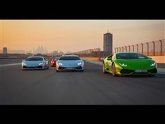 Lamborghini holds first Middle East Accademia in Dubai