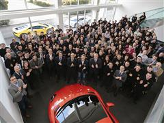 Automobili Lamborghini: A Record Hiring of nearly 200 New Employees in 2014